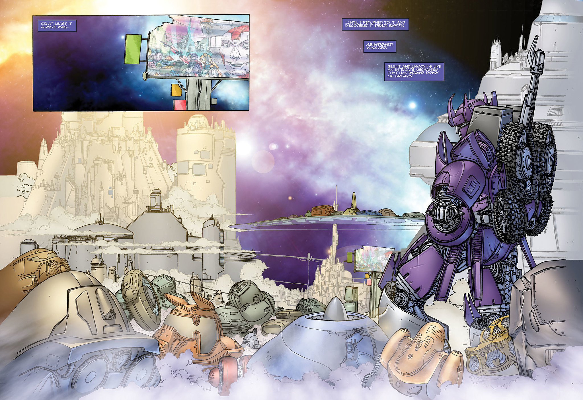 Read online Transformers: Heart of Darkness comic -  Issue #1 - 7