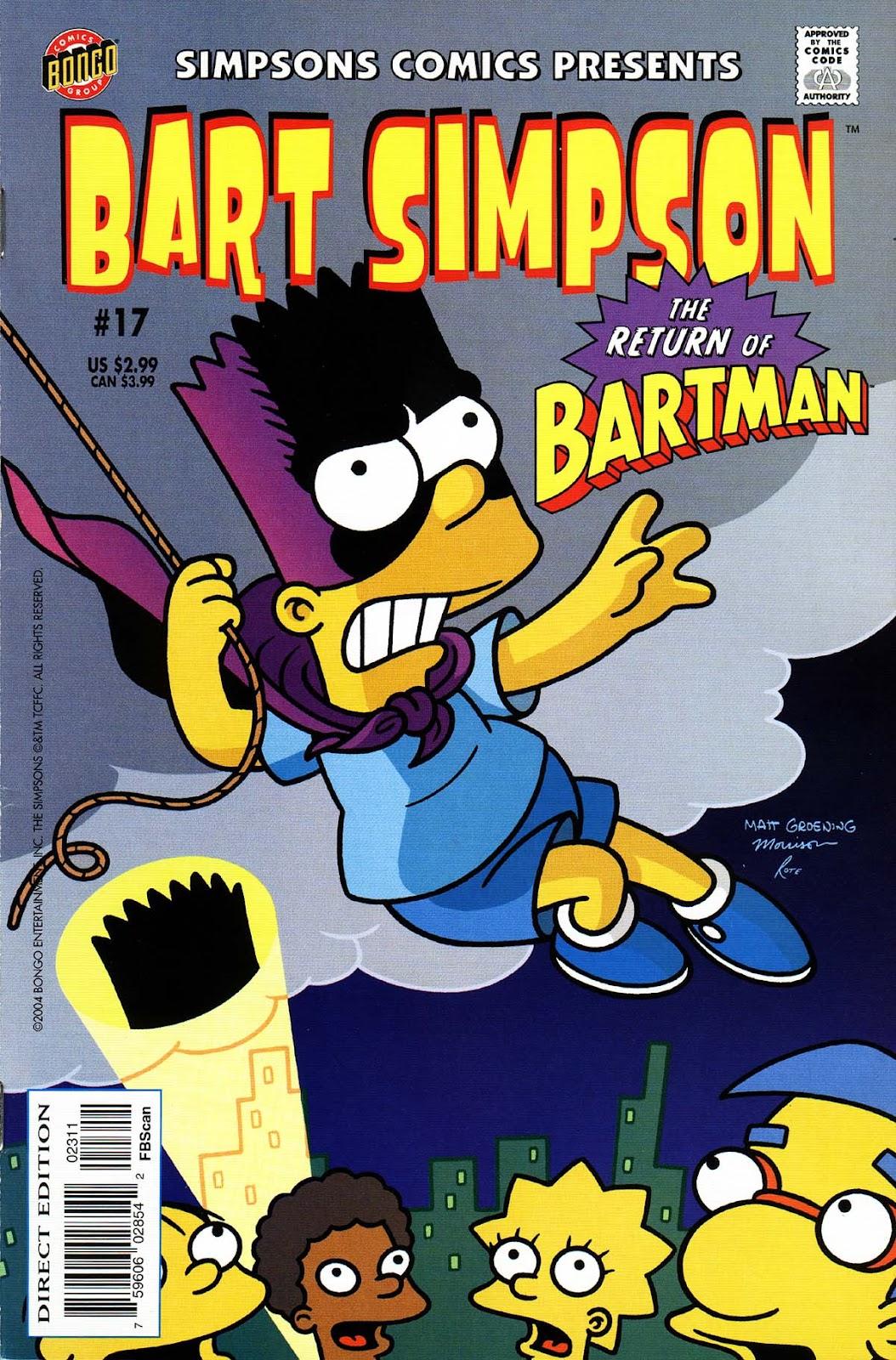 Simpsons Comics Presents Bart Simpson 17 Page 1