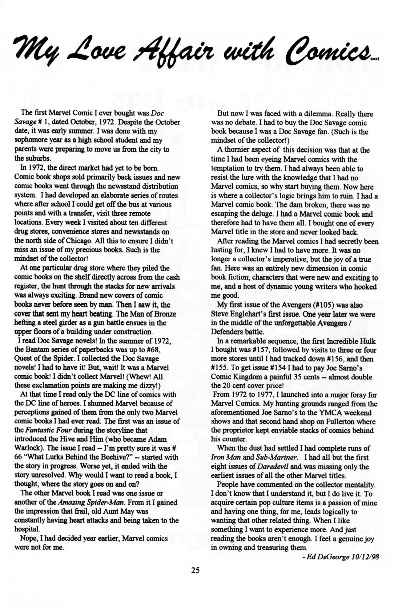 Read online Dr. Weird (1997) comic -  Issue #1 - 27