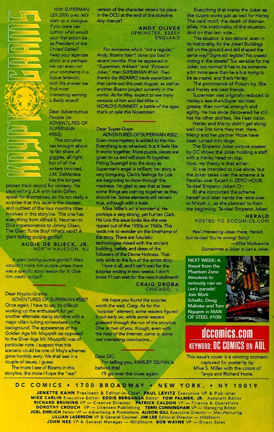 Comic Adventures of Superman (1987) issue 173
