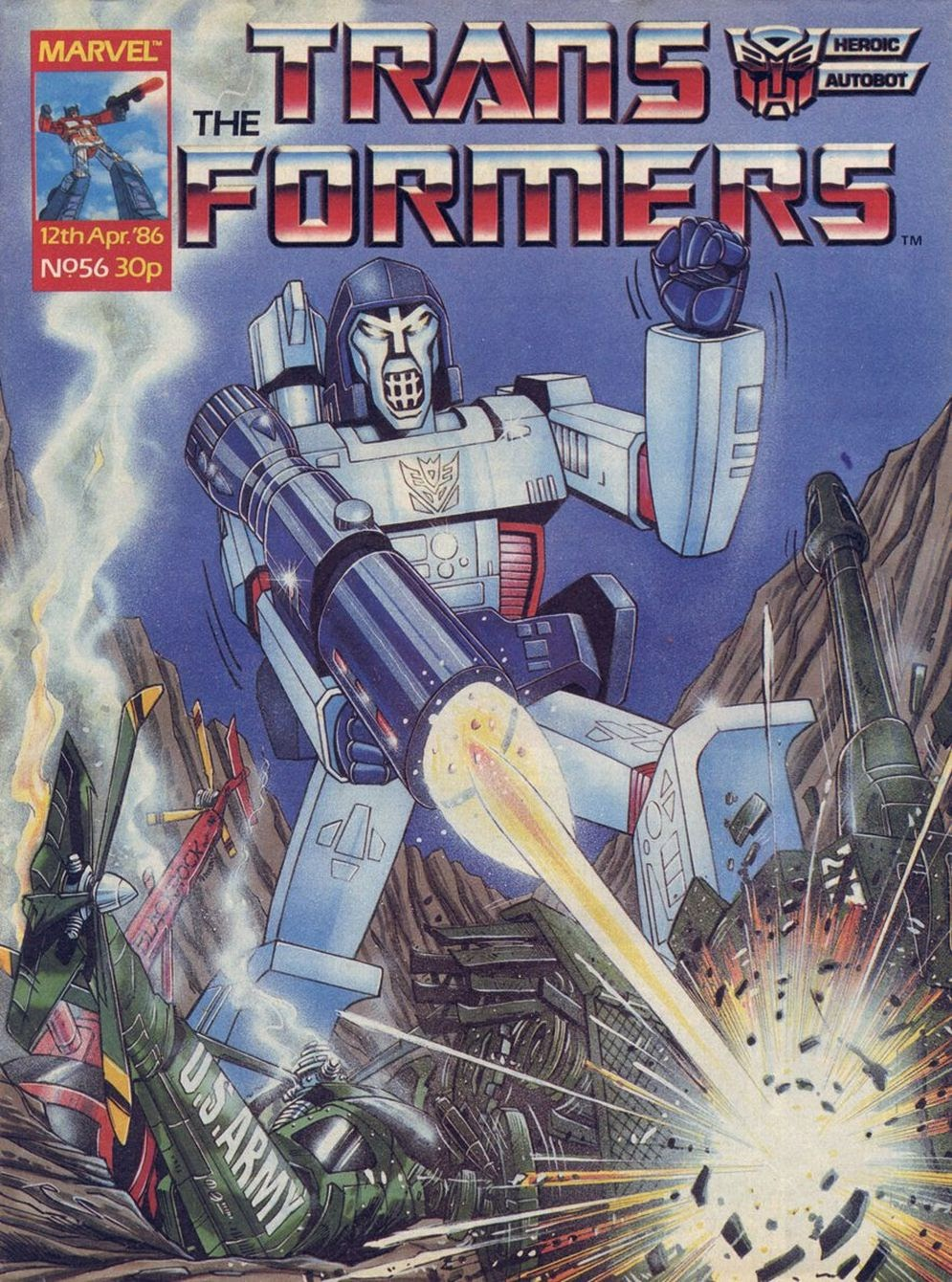 The Transformers (UK) 56 Page 1