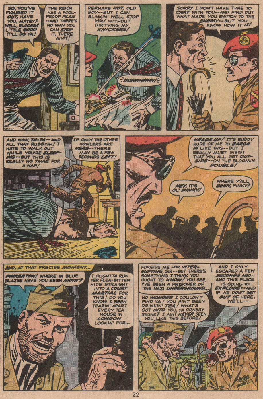 Read online Sgt. Fury comic -  Issue #142 - 24
