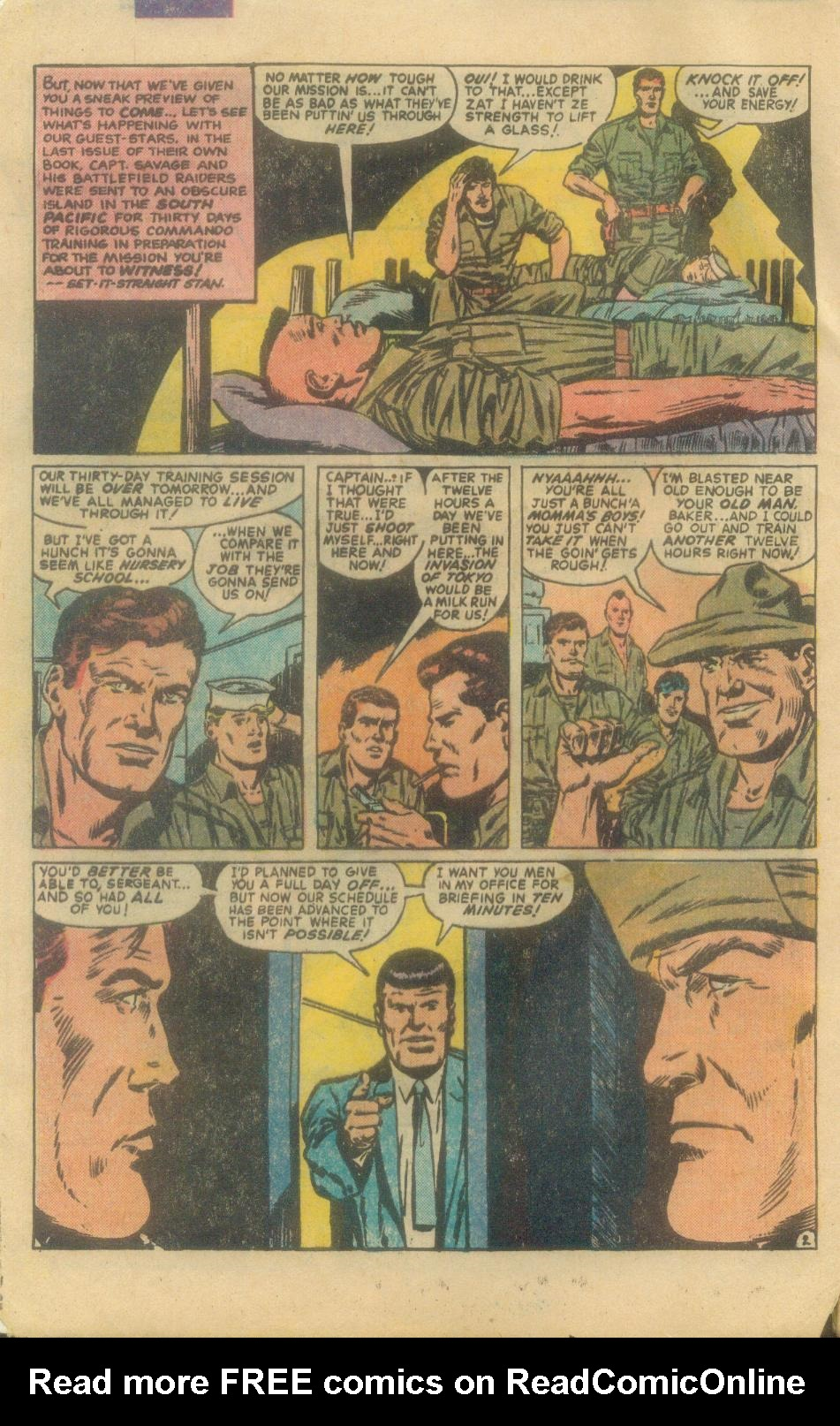 Read online Sgt. Fury comic -  Issue #160 - 4