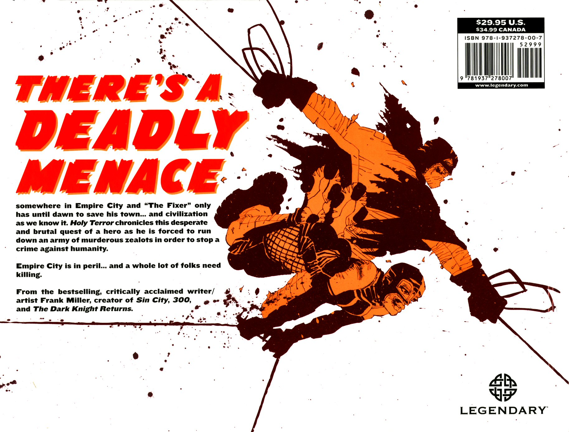 Read online Frank Miller's Holy Terror comic -  Issue # TPB - 2