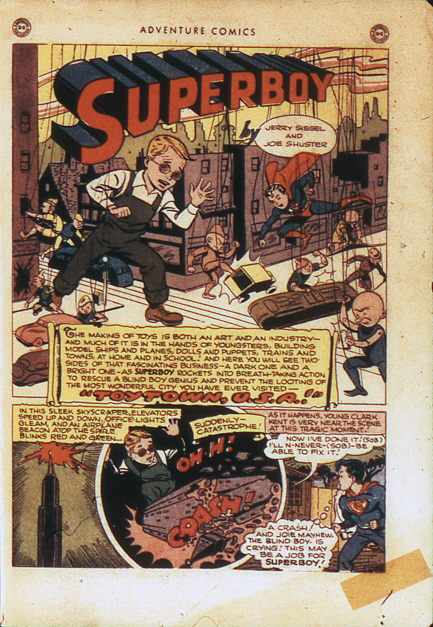 Read online Adventure Comics (1938) comic -  Issue #104 - 4