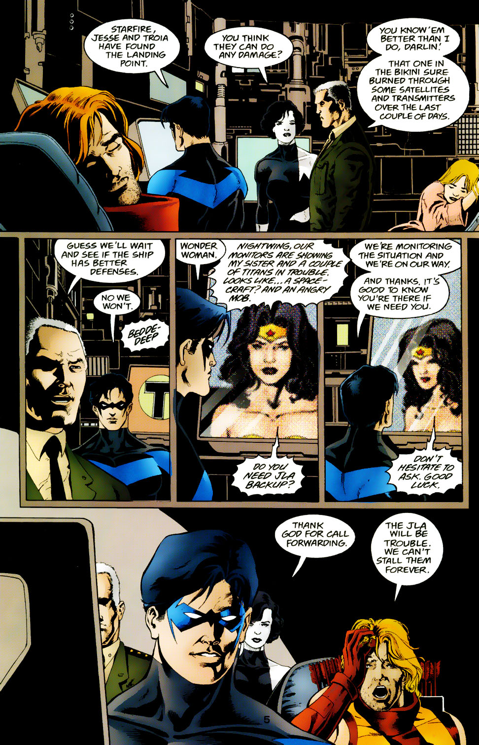 Read online The Titans (1999) comic -  Issue #50 - 6
