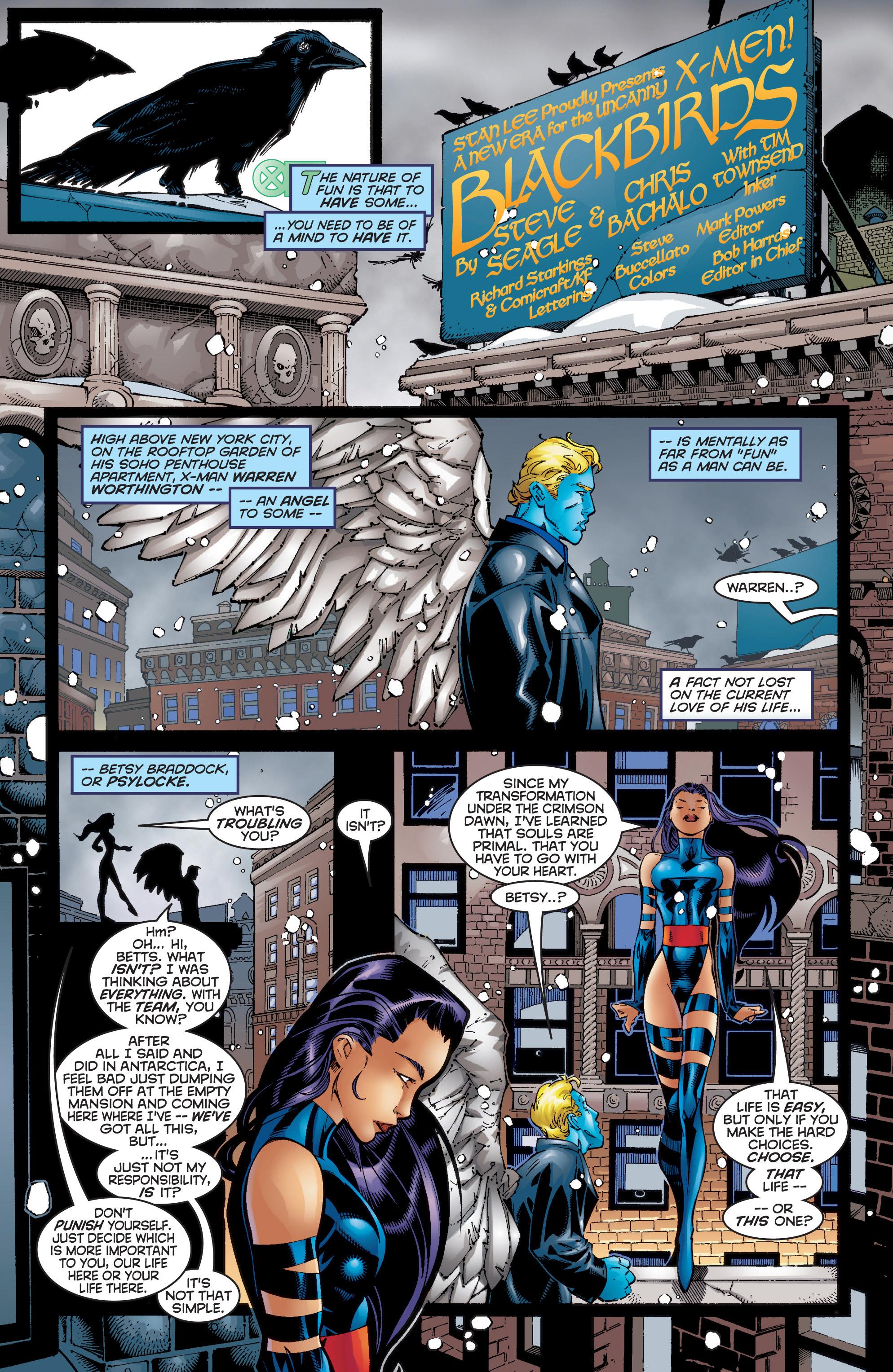 Read online Uncanny X-Men (1963) comic -  Issue #353 - 9
