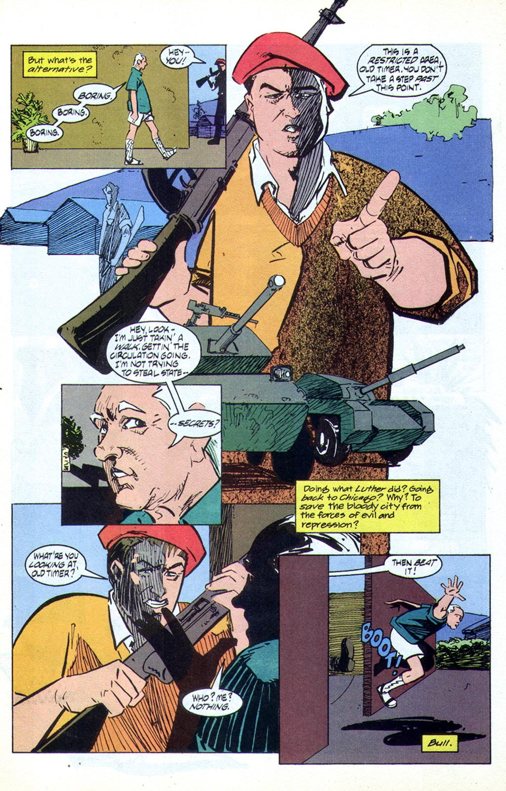 Read online American Flagg! comic -  Issue #44 - 7