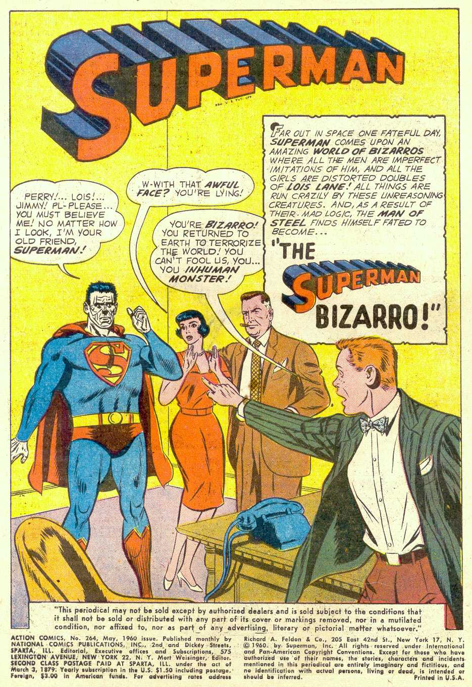 Read online Action Comics (1938) comic -  Issue #264 - 3