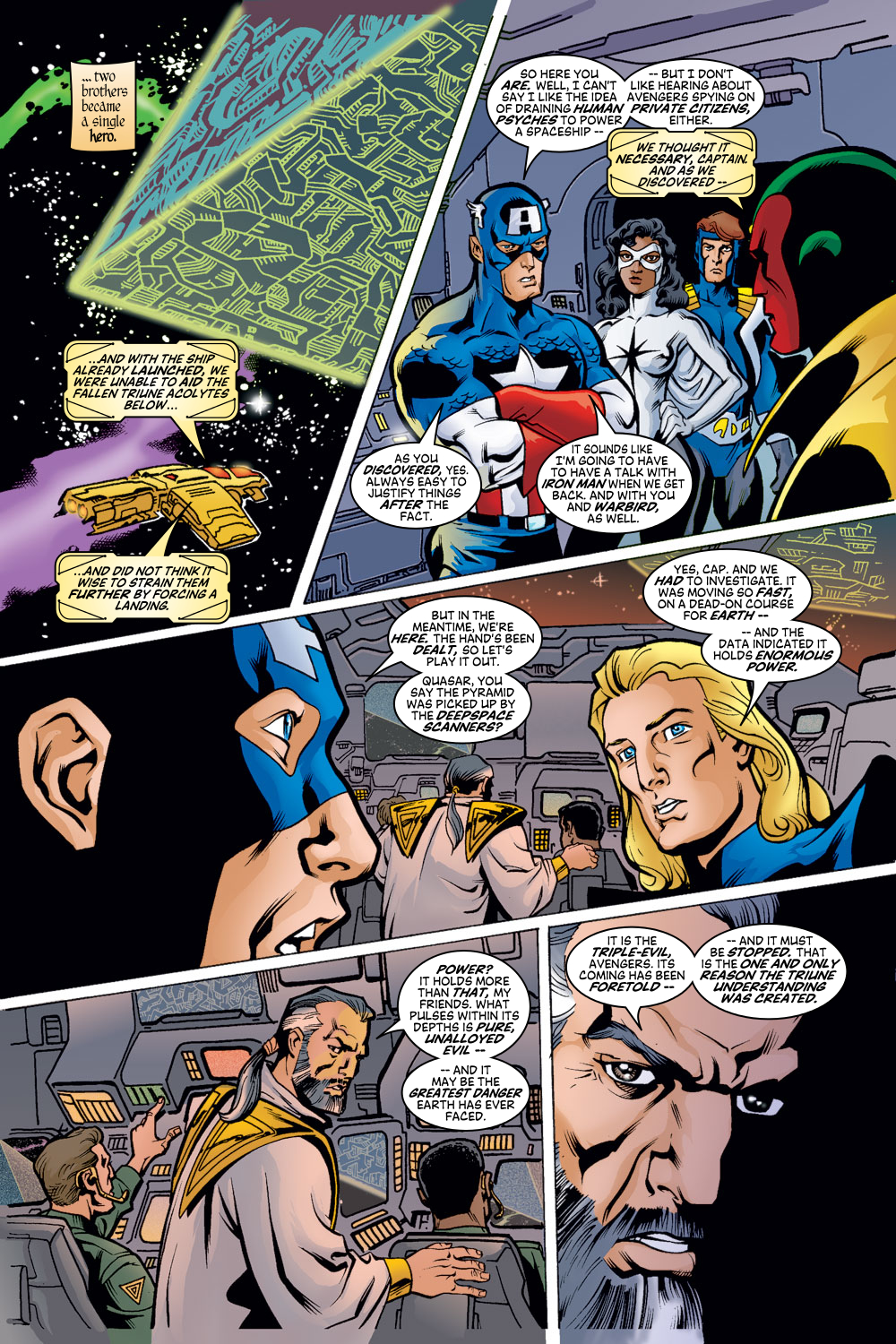 Read online Avengers (1998) comic -  Issue #50 - 10