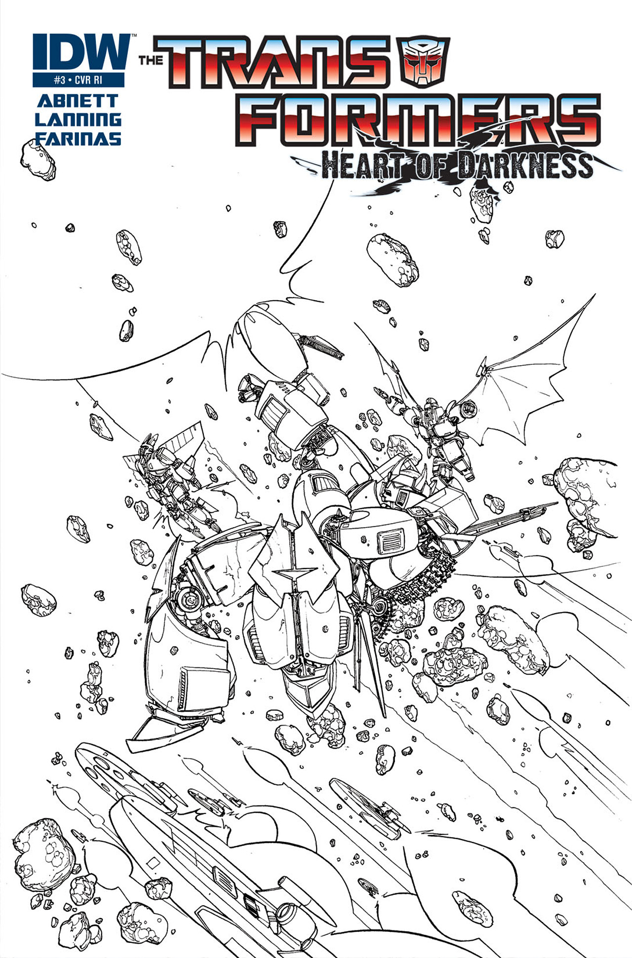 Read online Transformers: Heart of Darkness comic -  Issue #3 - 3