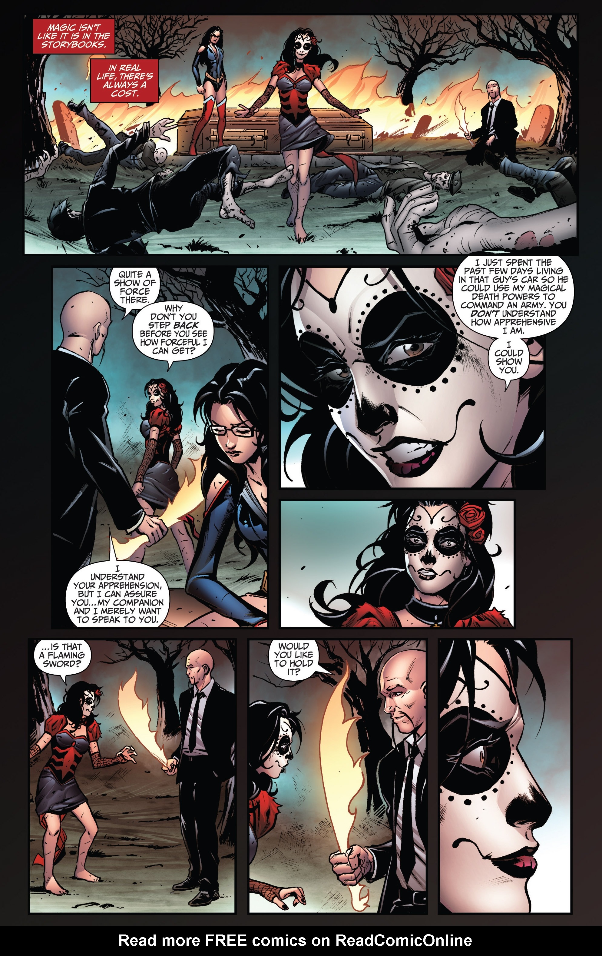 Read online Grimm Fairy Tales: Arcane Acre comic -  Issue # TPB 3 - 48