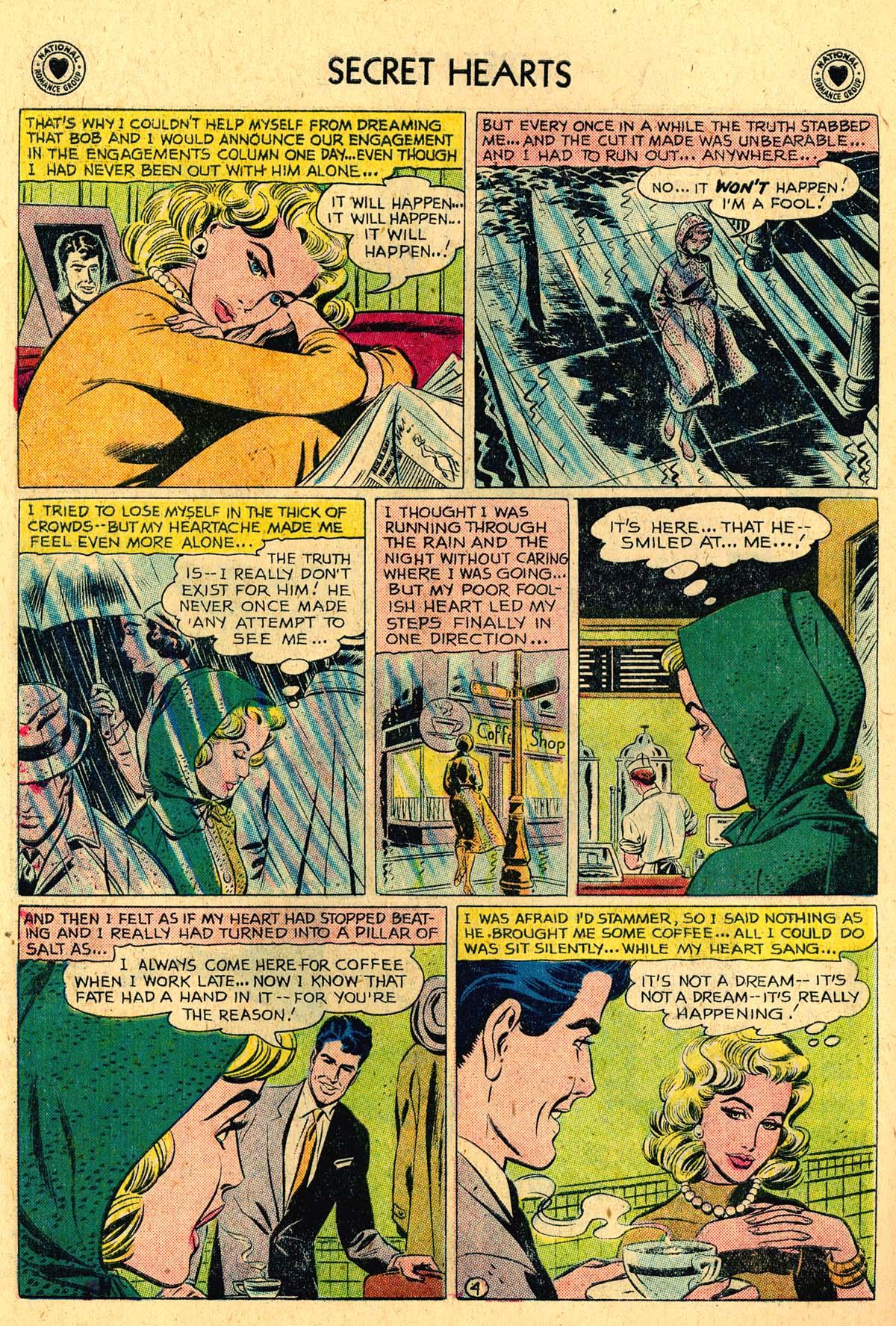 Read online Secret Hearts comic -  Issue #57 - 30