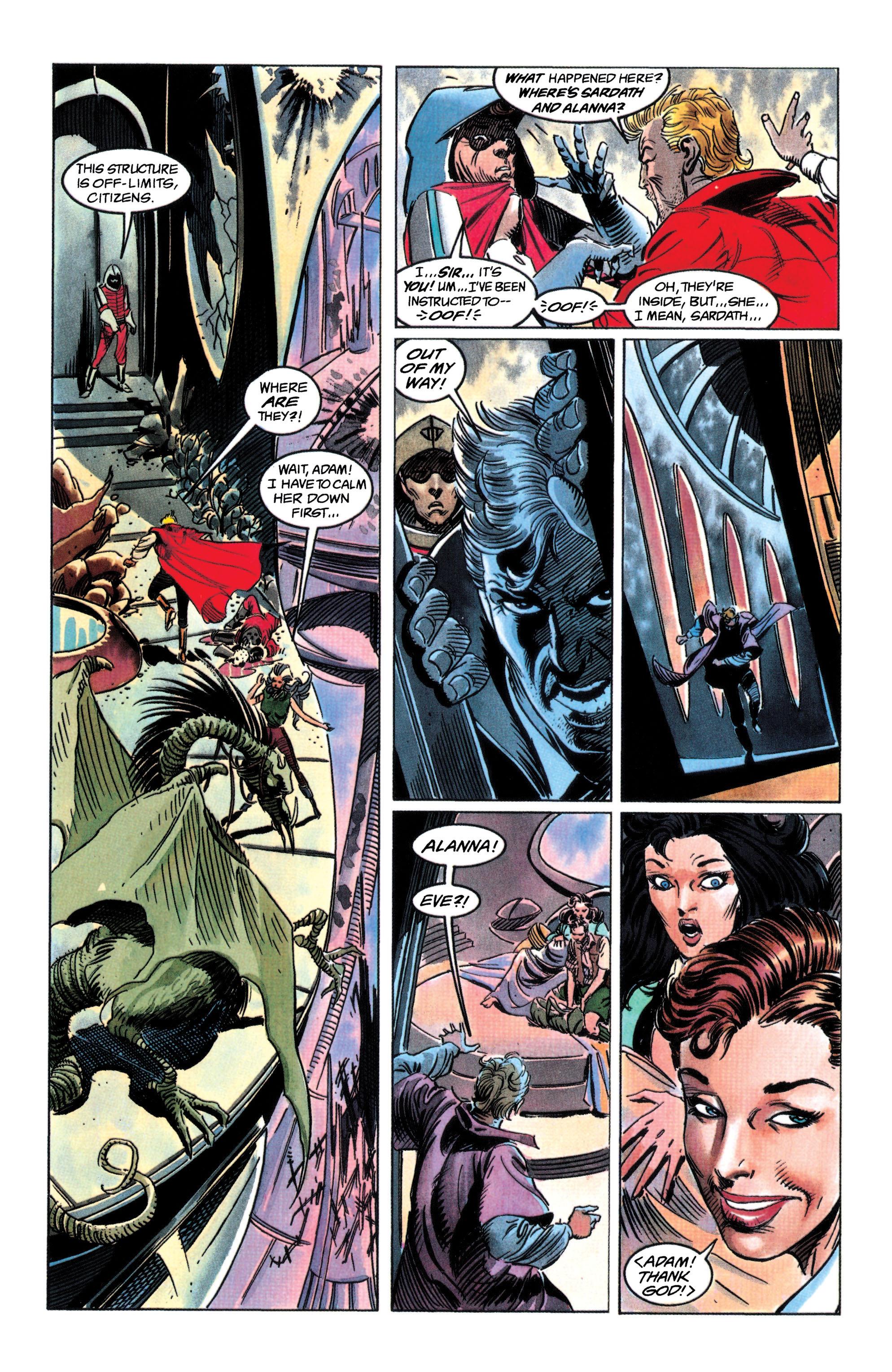 Read online Adam Strange (1990) comic -  Issue #3 - 13