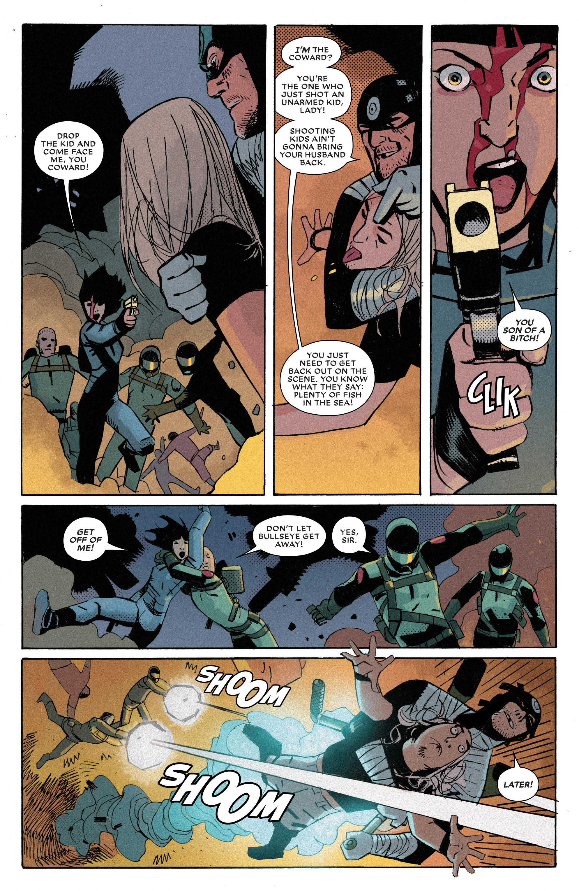 Read online Bullseye comic -  Issue #5 - 12