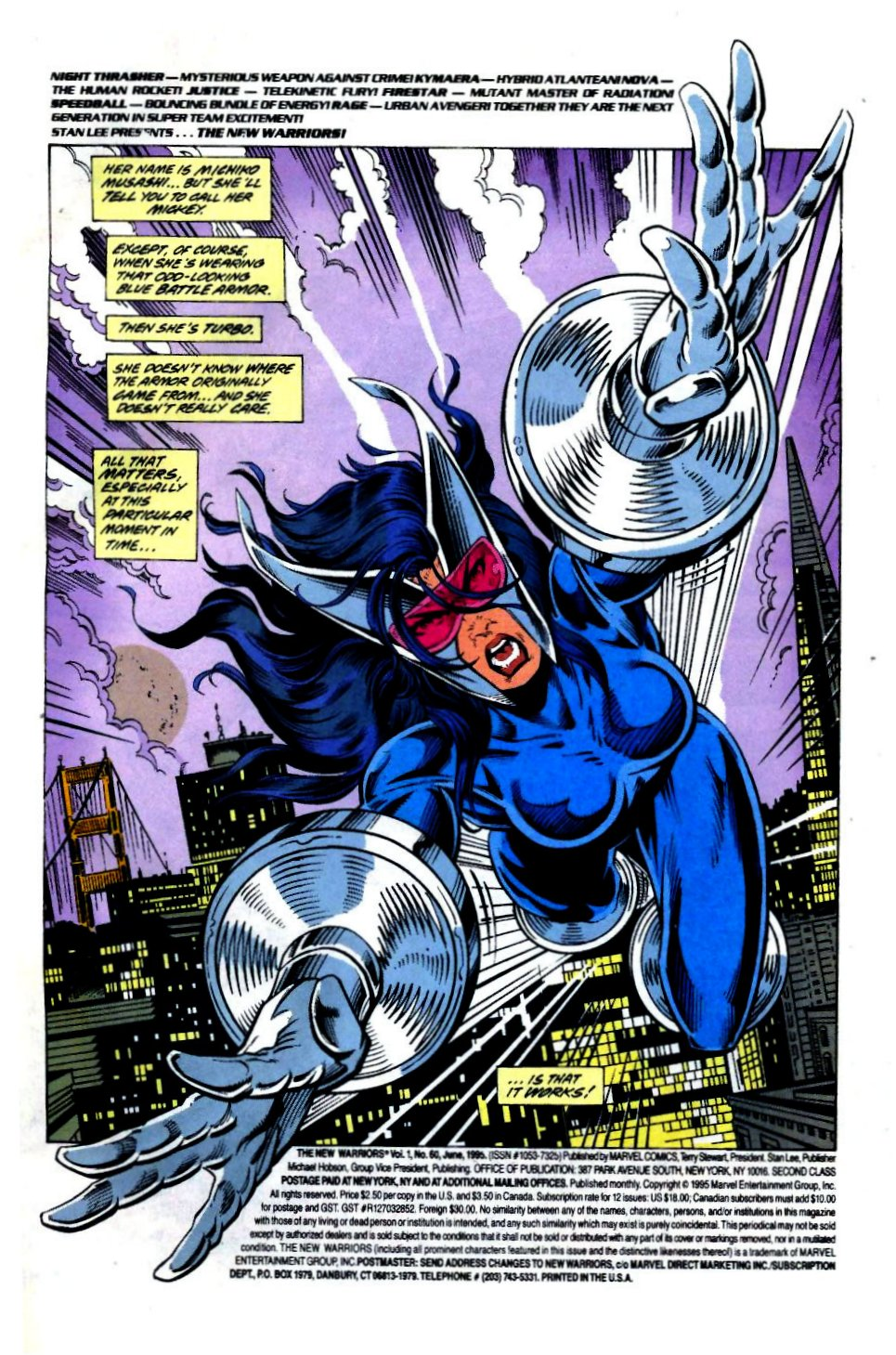 The New Warriors Issue #60 #64 - English 2