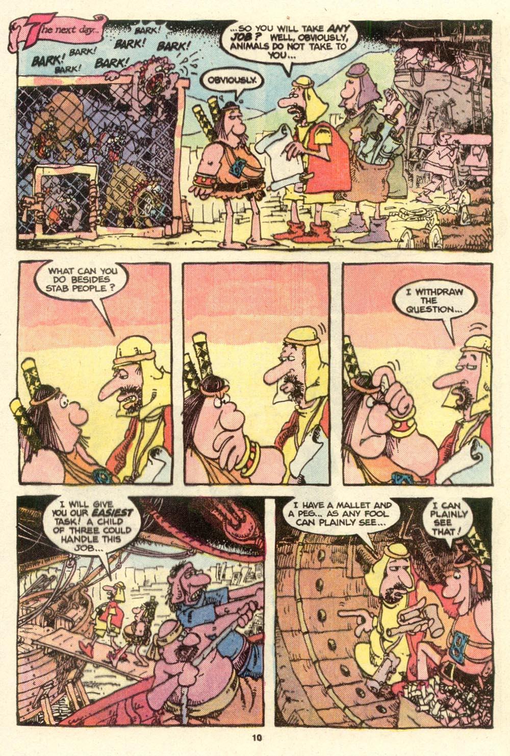 Read online Sergio Aragonés Groo the Wanderer comic -  Issue #16 - 10