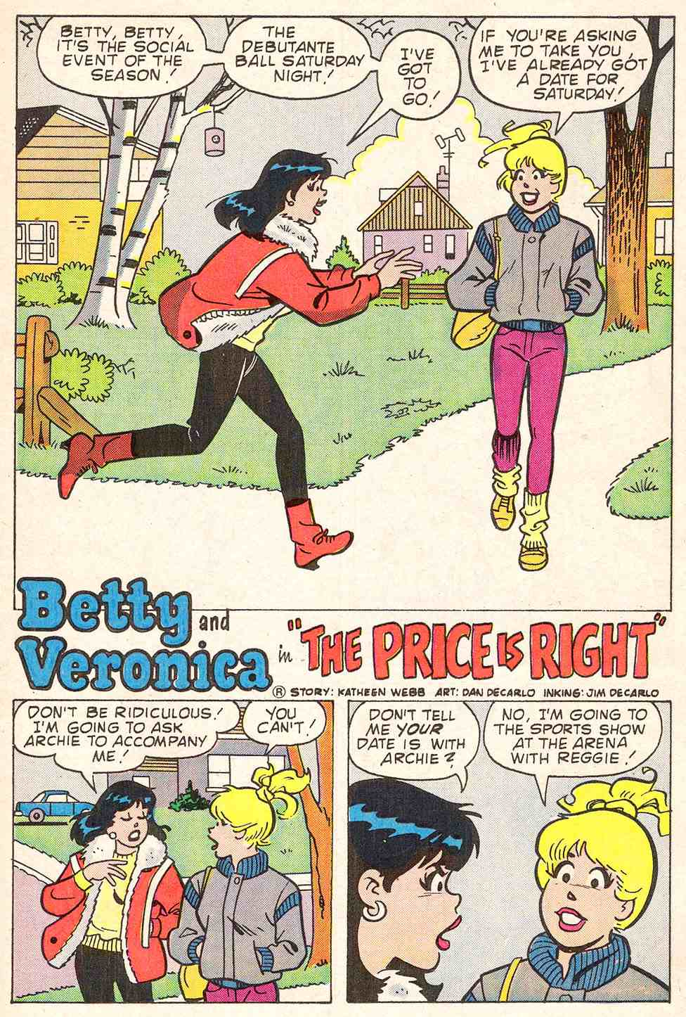 Read online Archie's Girls Betty and Veronica comic -  Issue #347 - 13