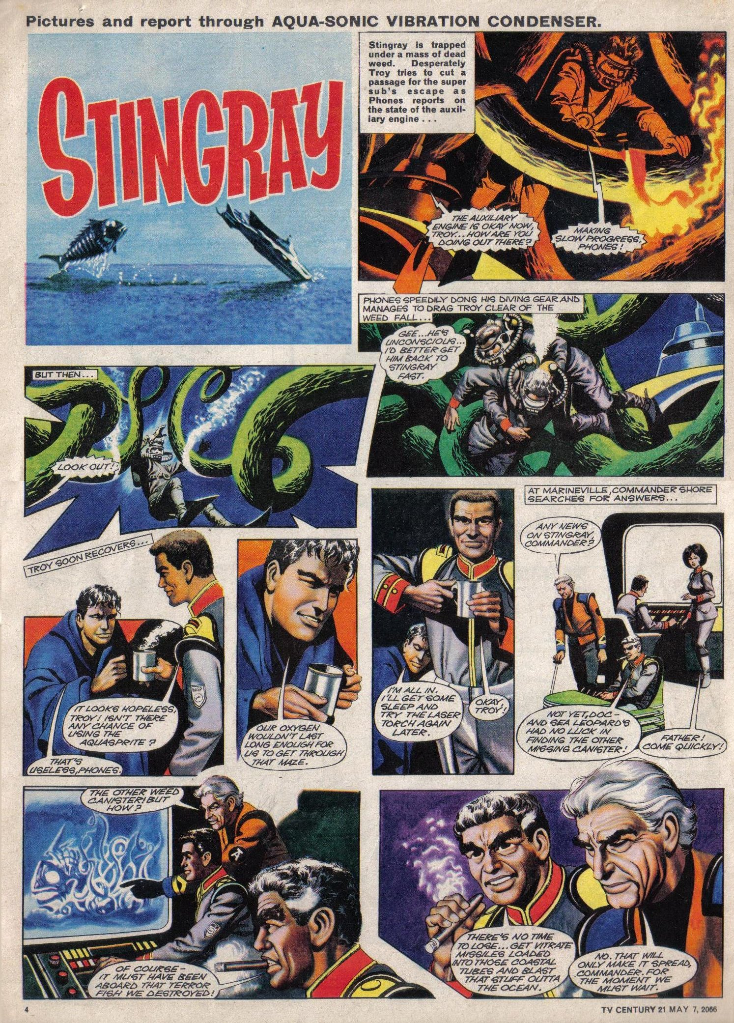 Read online TV Century 21 (TV 21) comic -  Issue #68 - 4