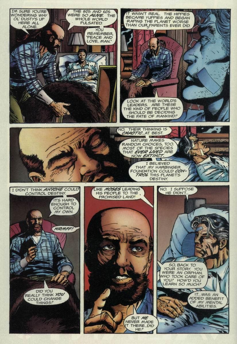 Read online Harbinger Files comic -  Issue #1 - 12