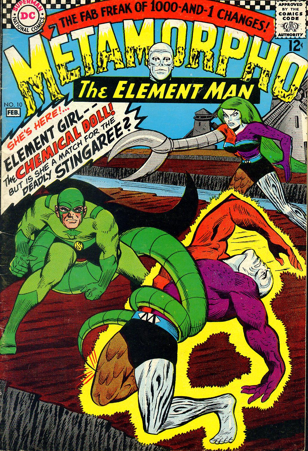 Metamorpho (1965) issue 10 - Page 1