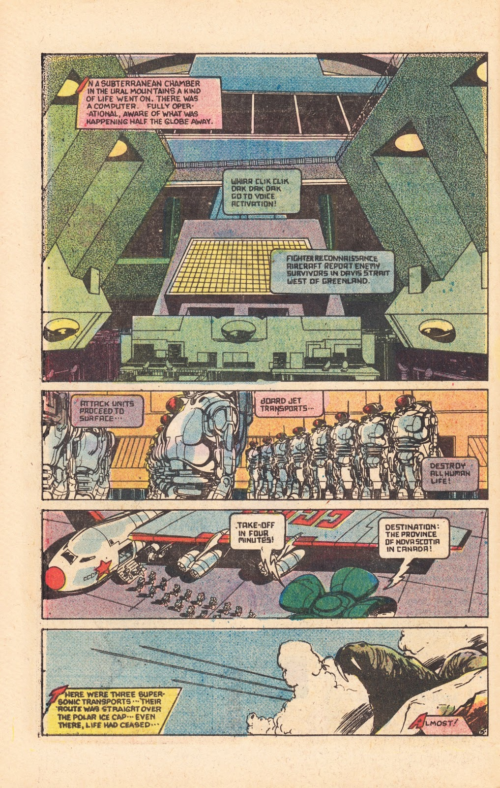 Read online Doomsday   1 (1975) comic -  Issue #8 - 8