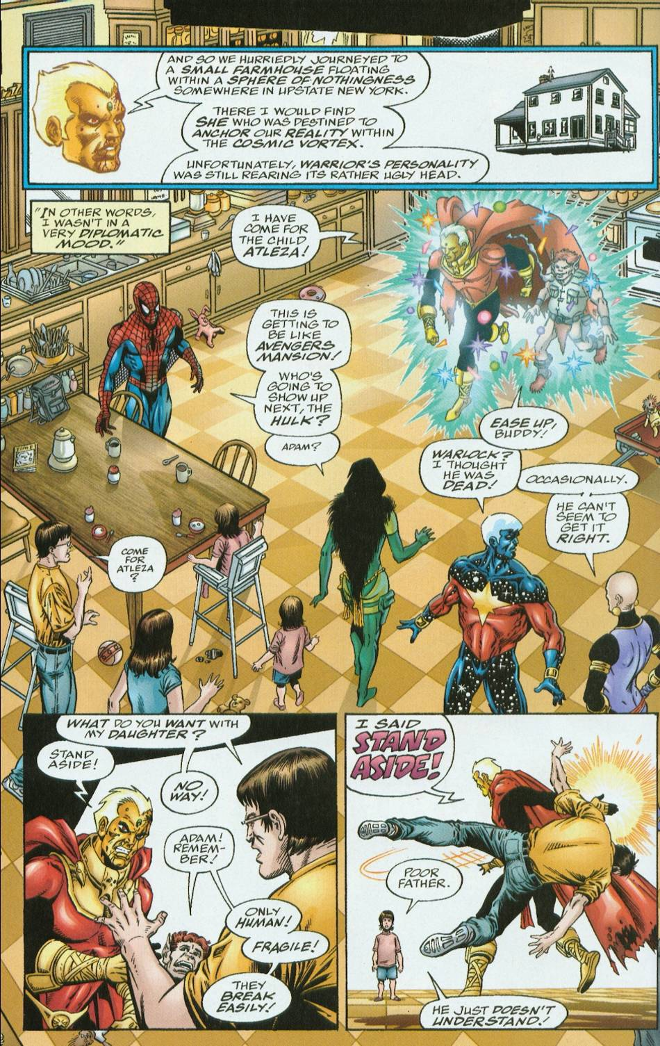 Read online Infinity Abyss comic -  Issue #6 - 6