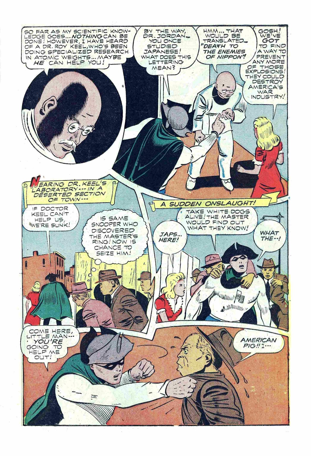 Read online America's Best Comics comic -  Issue #13 - 19