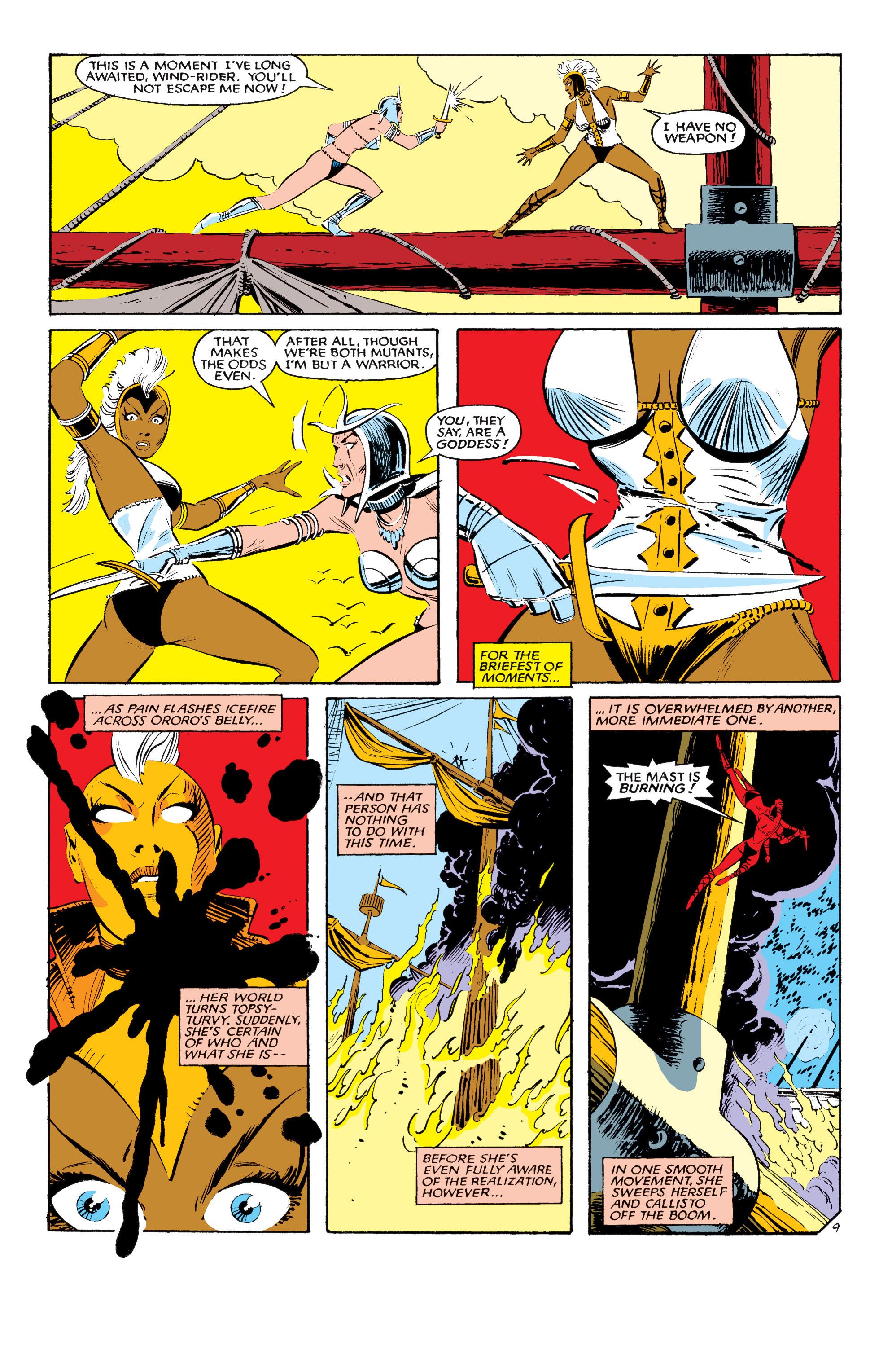 Read online Uncanny X-Men (1963) comic -  Issue #190 - 9