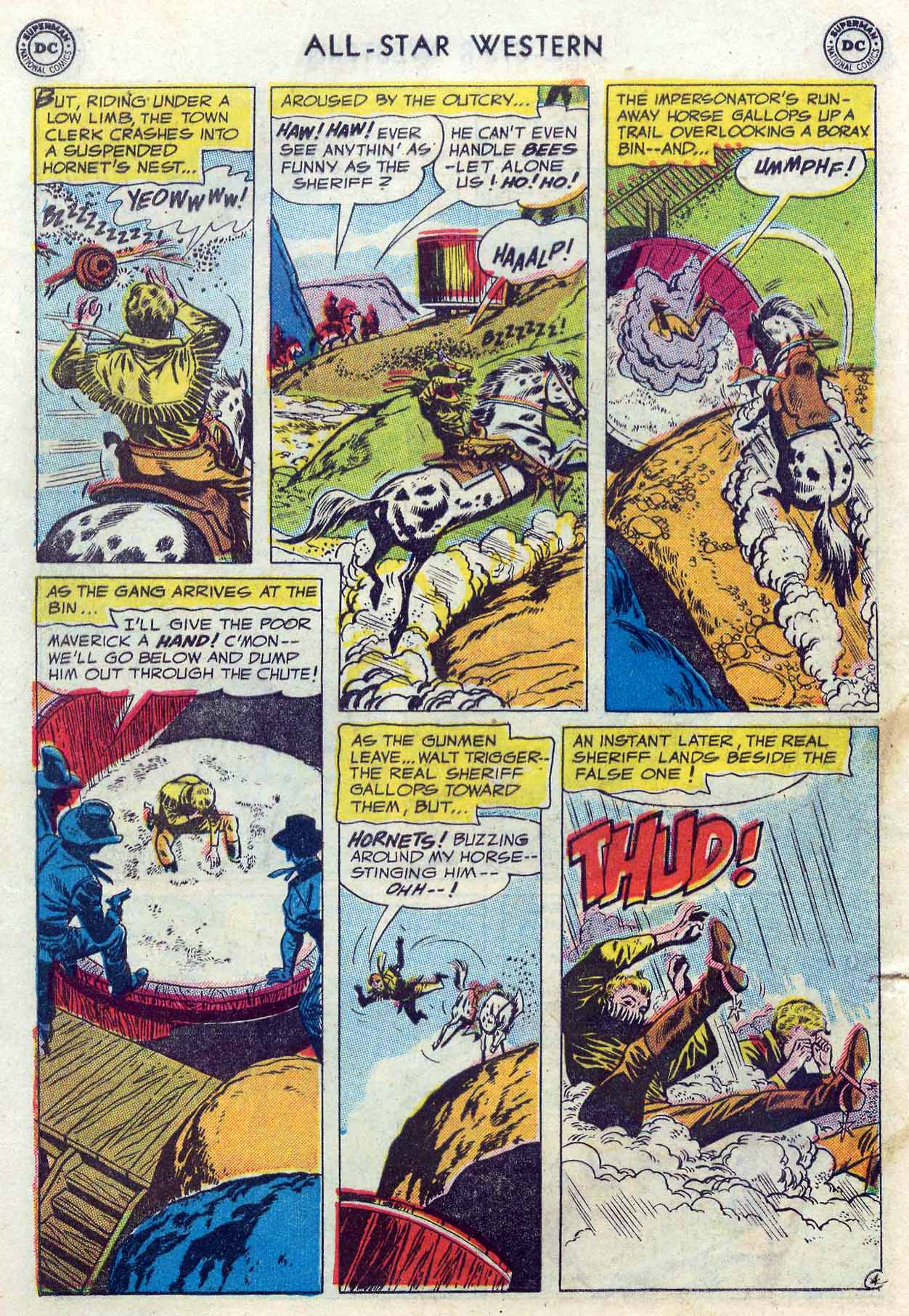 Read online All-Star Western (1951) comic -  Issue #85 - 6