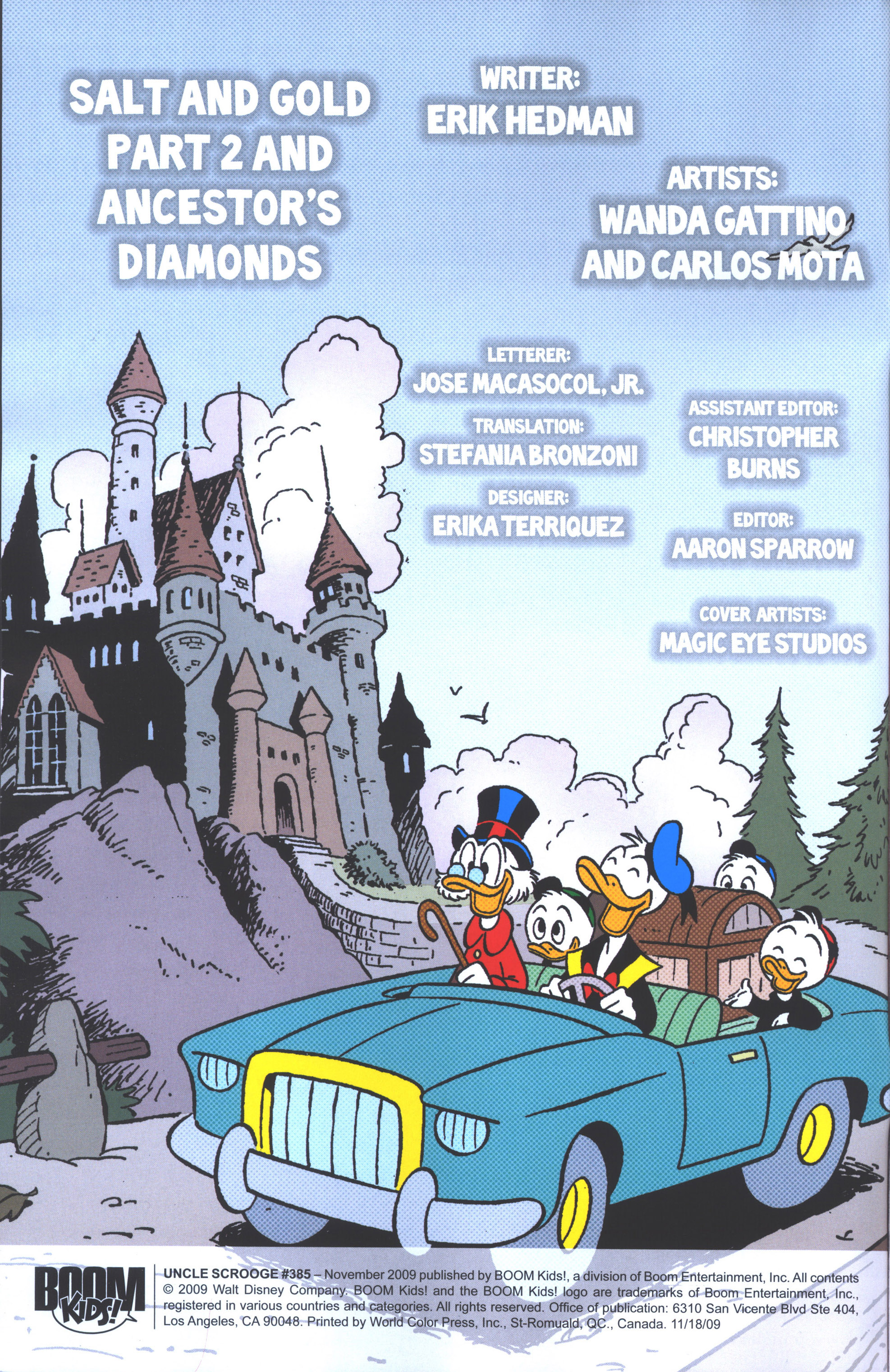 Read online Uncle Scrooge (1953) comic -  Issue #385 - 3
