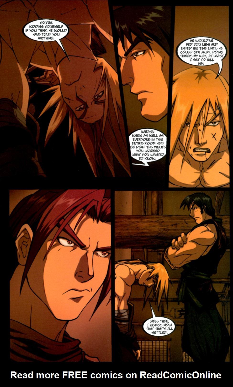 Read online Shidima comic -  Issue #4 - 8