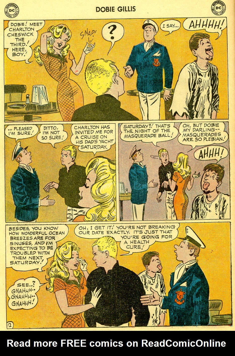 Many Loves of Dobie Gillis issue 4 - Page 16