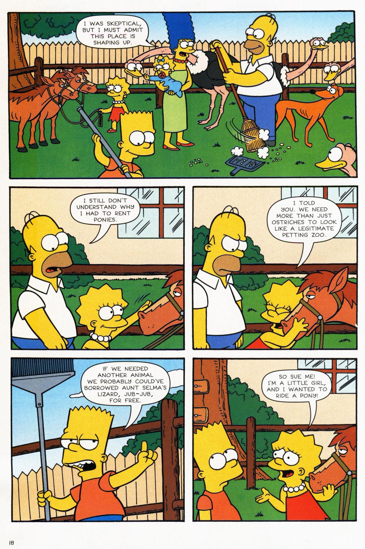 Read online Simpsons Comics comic -  Issue #139 - 16