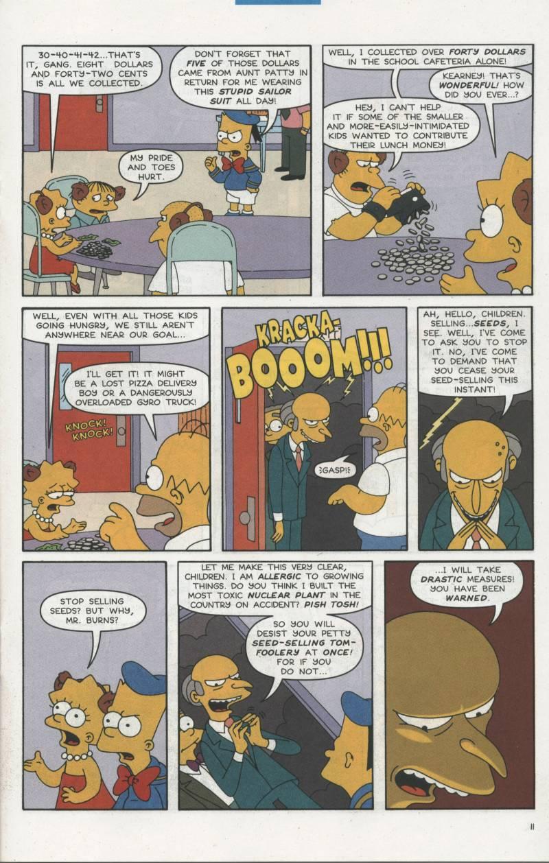 Read online Simpsons Comics comic -  Issue #67 - 12