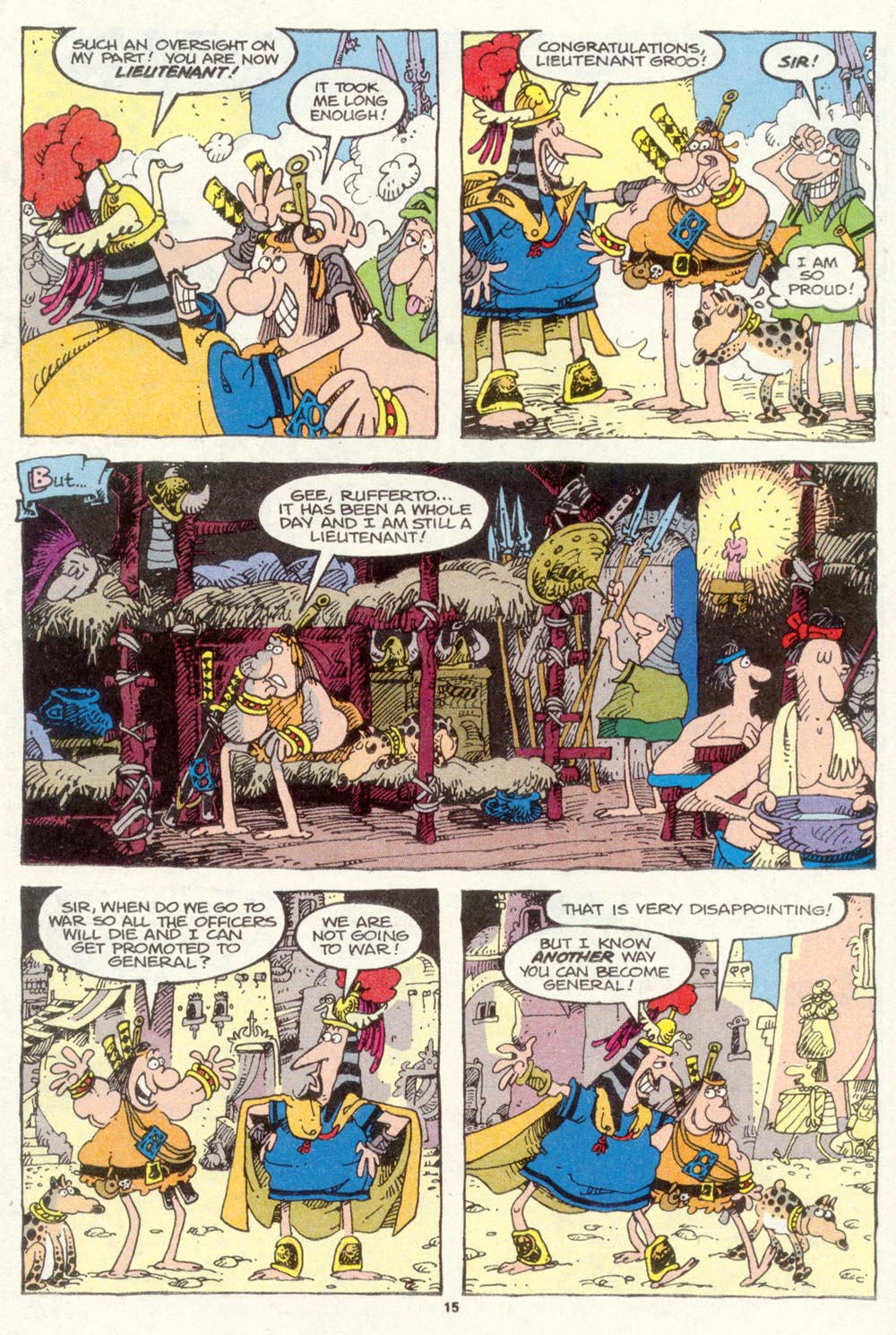 Read online Sergio Aragonés Groo the Wanderer comic -  Issue #87 - 16