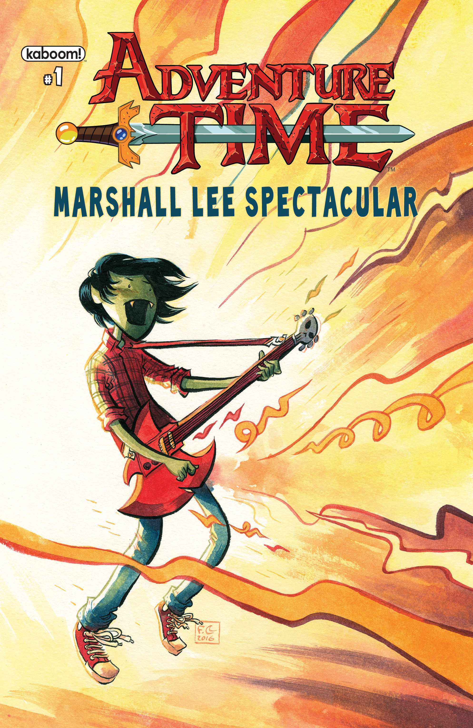 Adventure Time Marshall Lee Spectacular Full Page 1