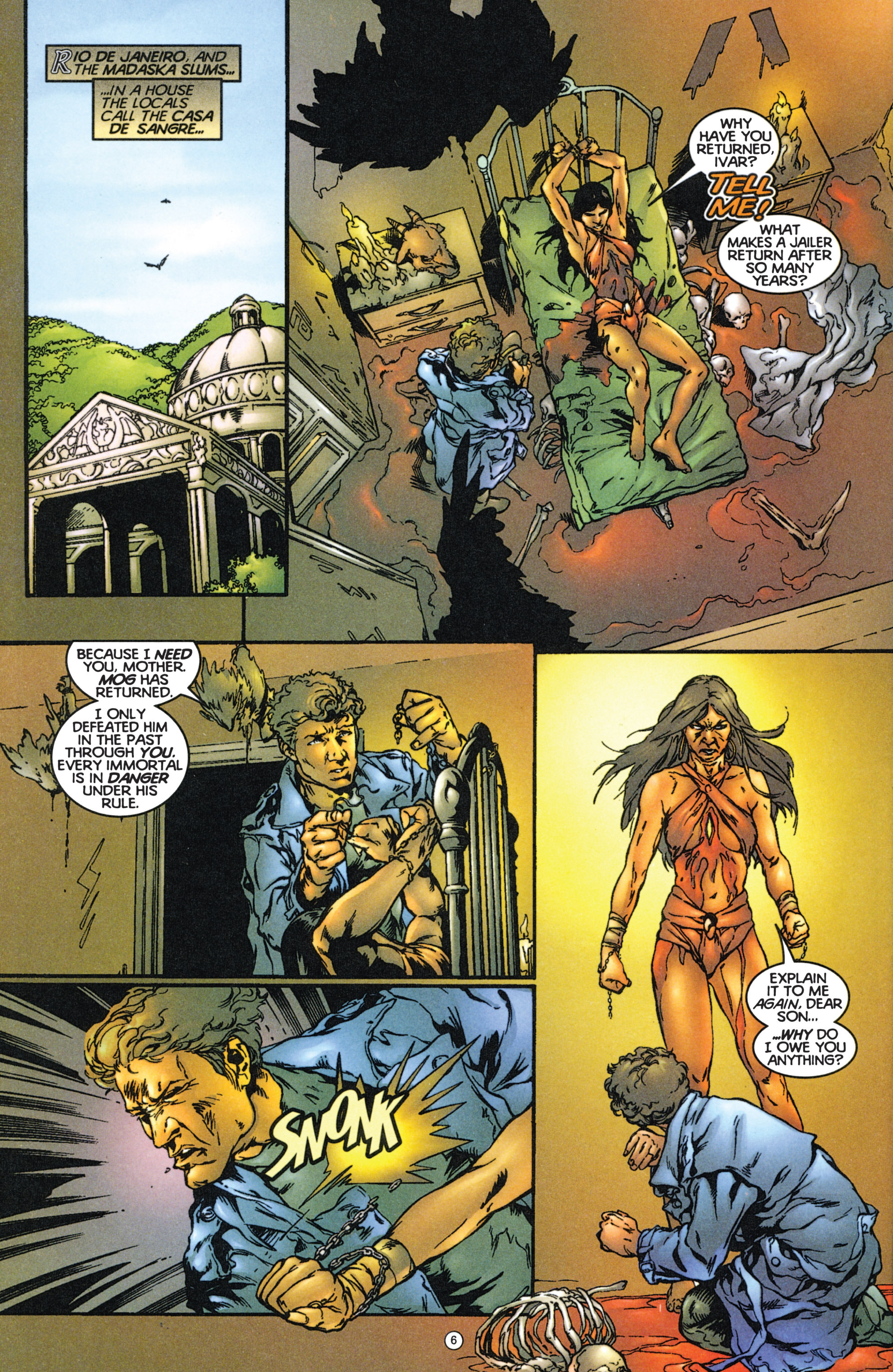 Read online Eternal Warriors comic -  Issue # Issue The Immortal Enemy - 7