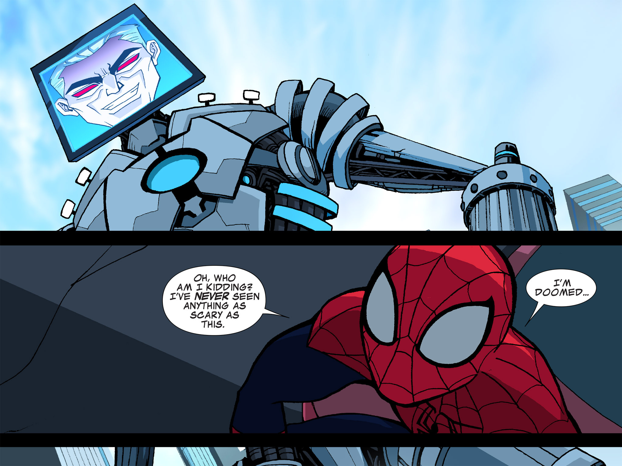 Read online Ultimate Spider-Man (Infinite Comics) (2015) comic -  Issue #5 - 44