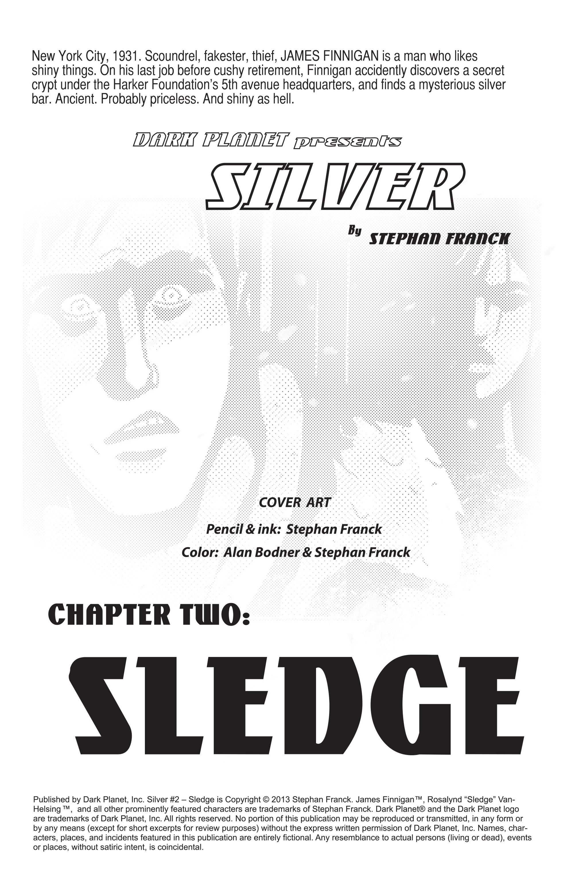 Read online Silver comic -  Issue #2 - 2
