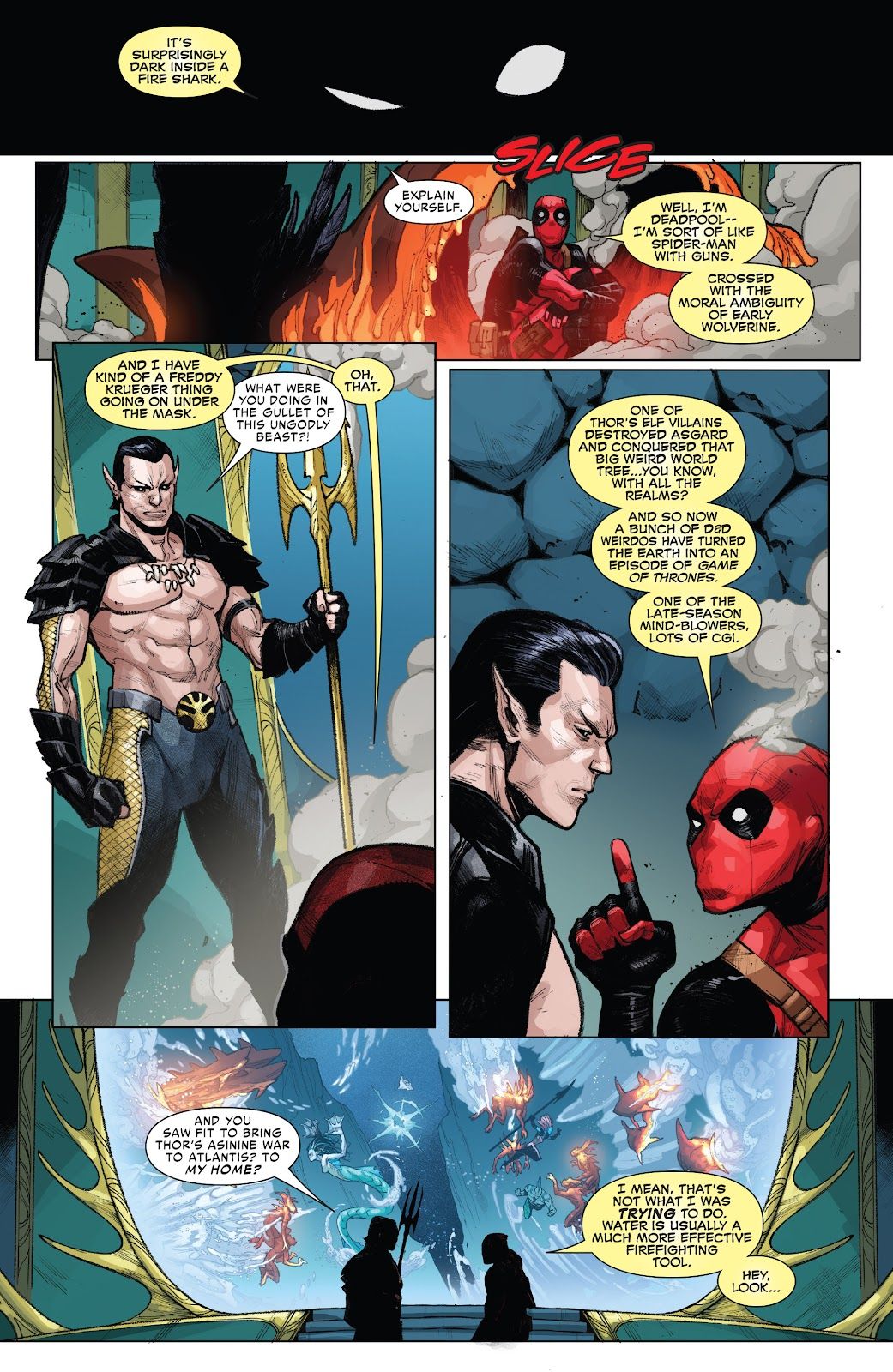 Read online War of the Realms Strikeforce: The War Avengers comic -  Issue # Full - 7