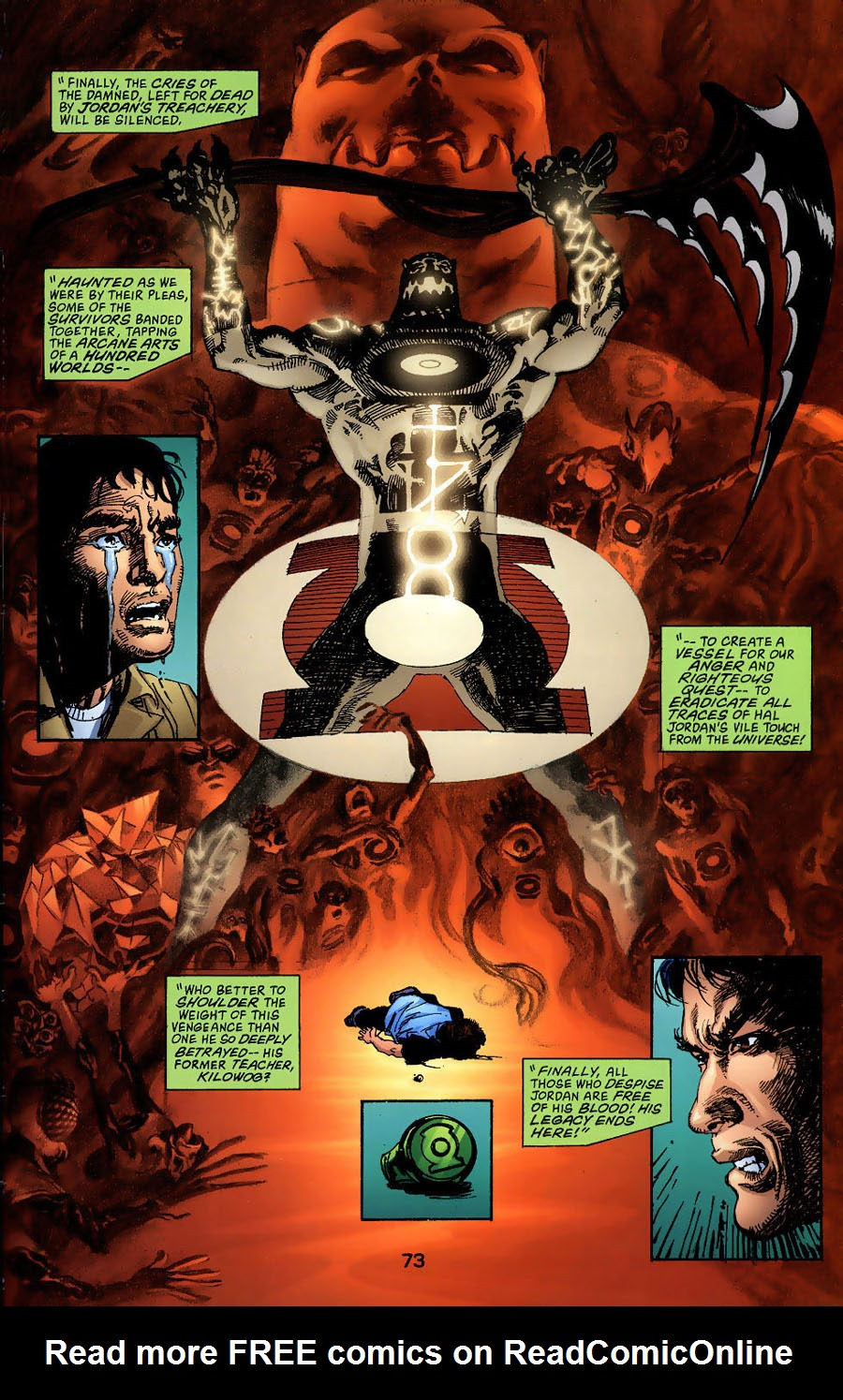 Read online Green Lantern: Legacy: The Last Will and Testament of Hal Jordan comic -  Issue # TPB - 79
