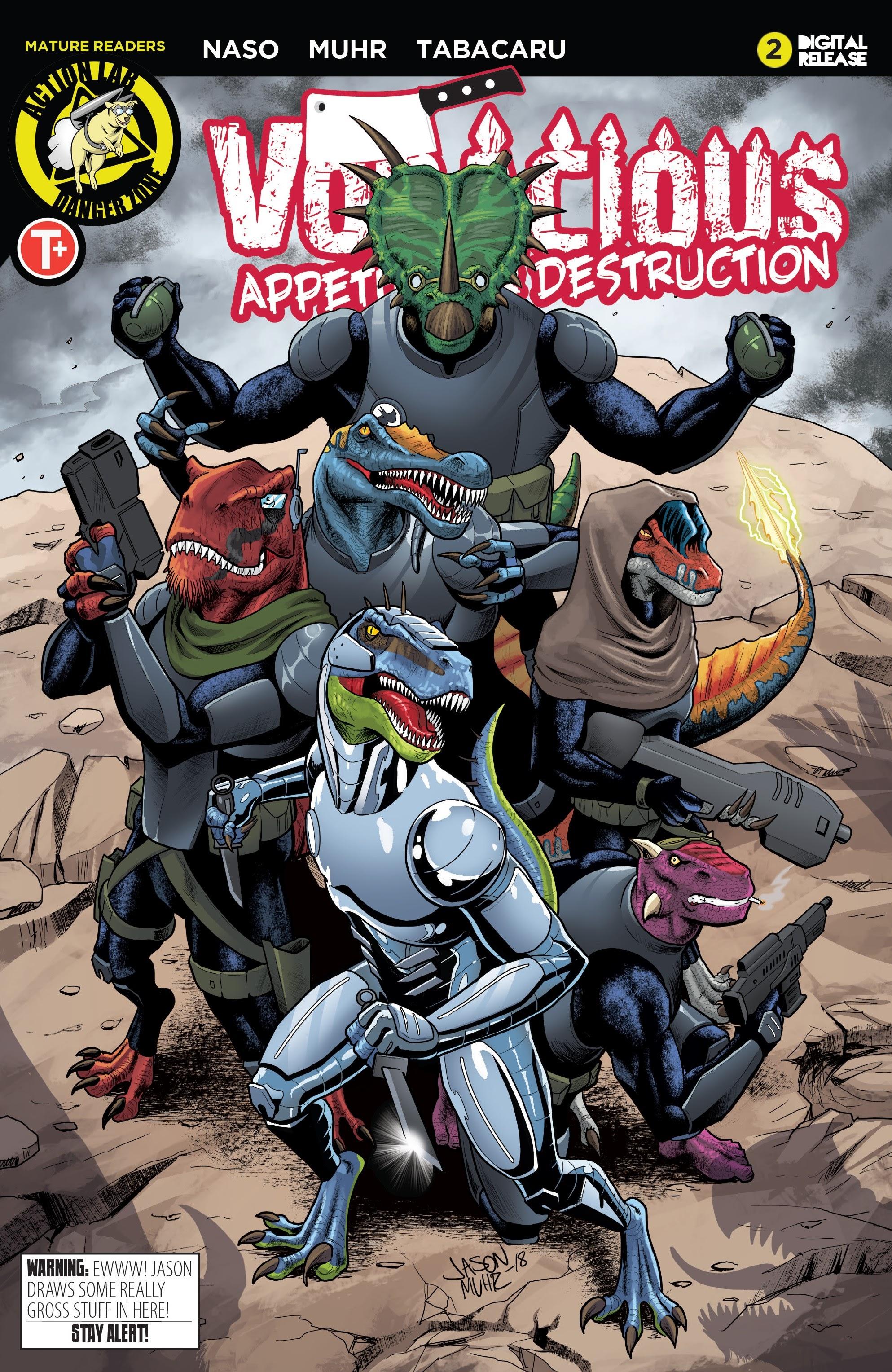 Voracious: Appetite for Destruction 2 Page 1