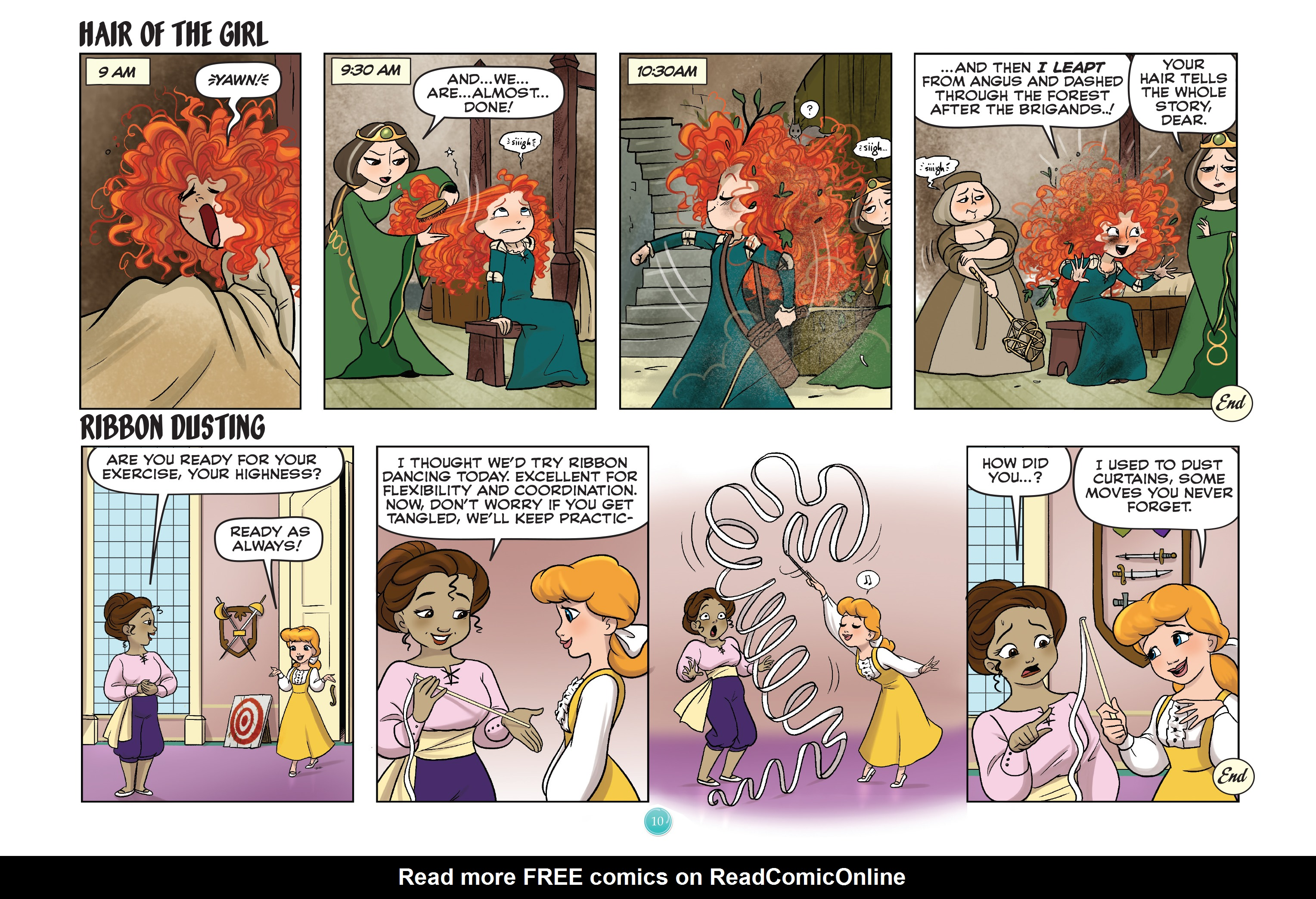 Read online Disney Princess comic -  Issue #7 - 13