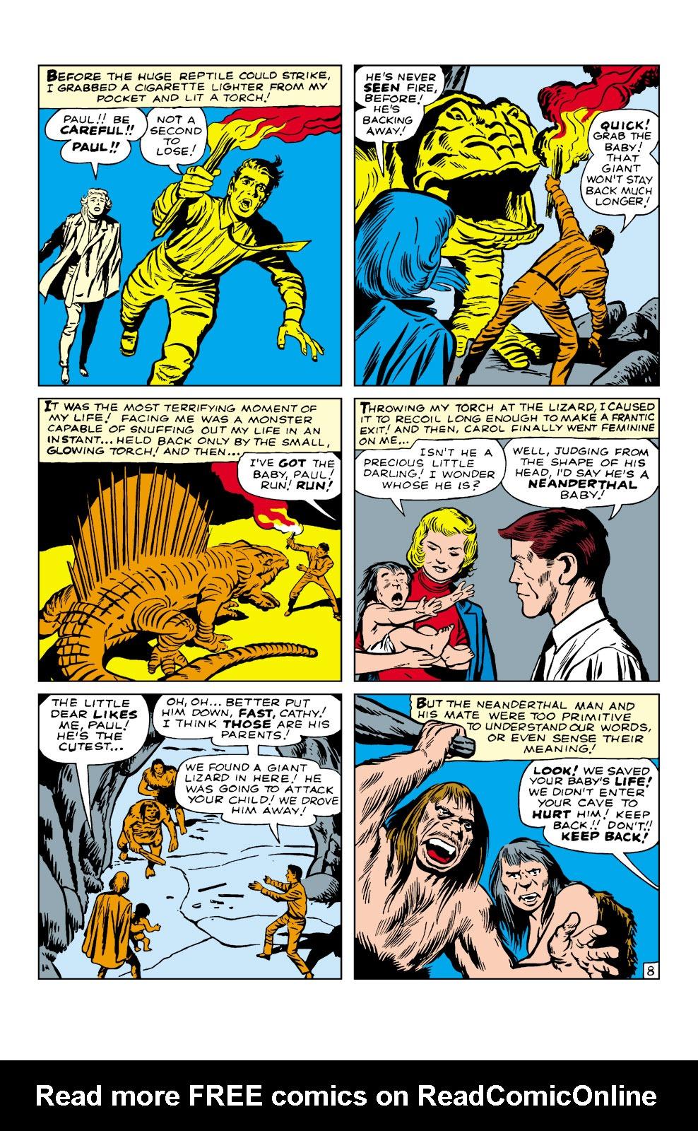 Read online Amazing Adventures (1961) comic -  Issue #3 - 10