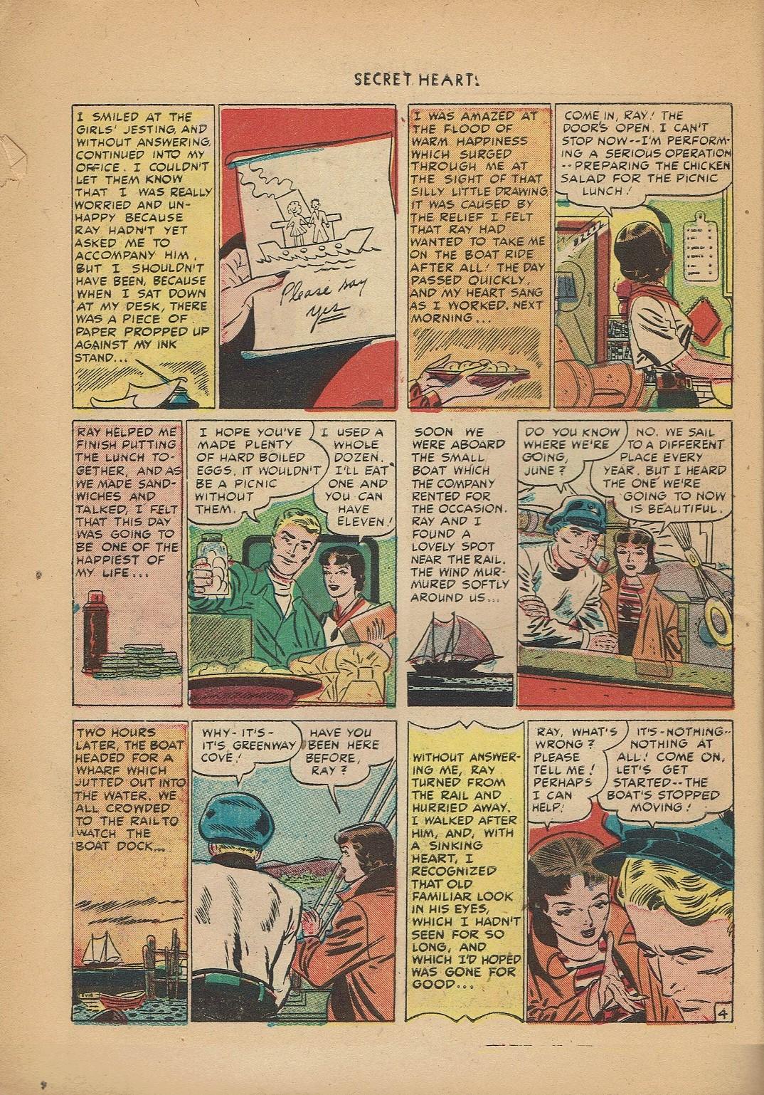Read online Secret Hearts comic -  Issue #2 - 14