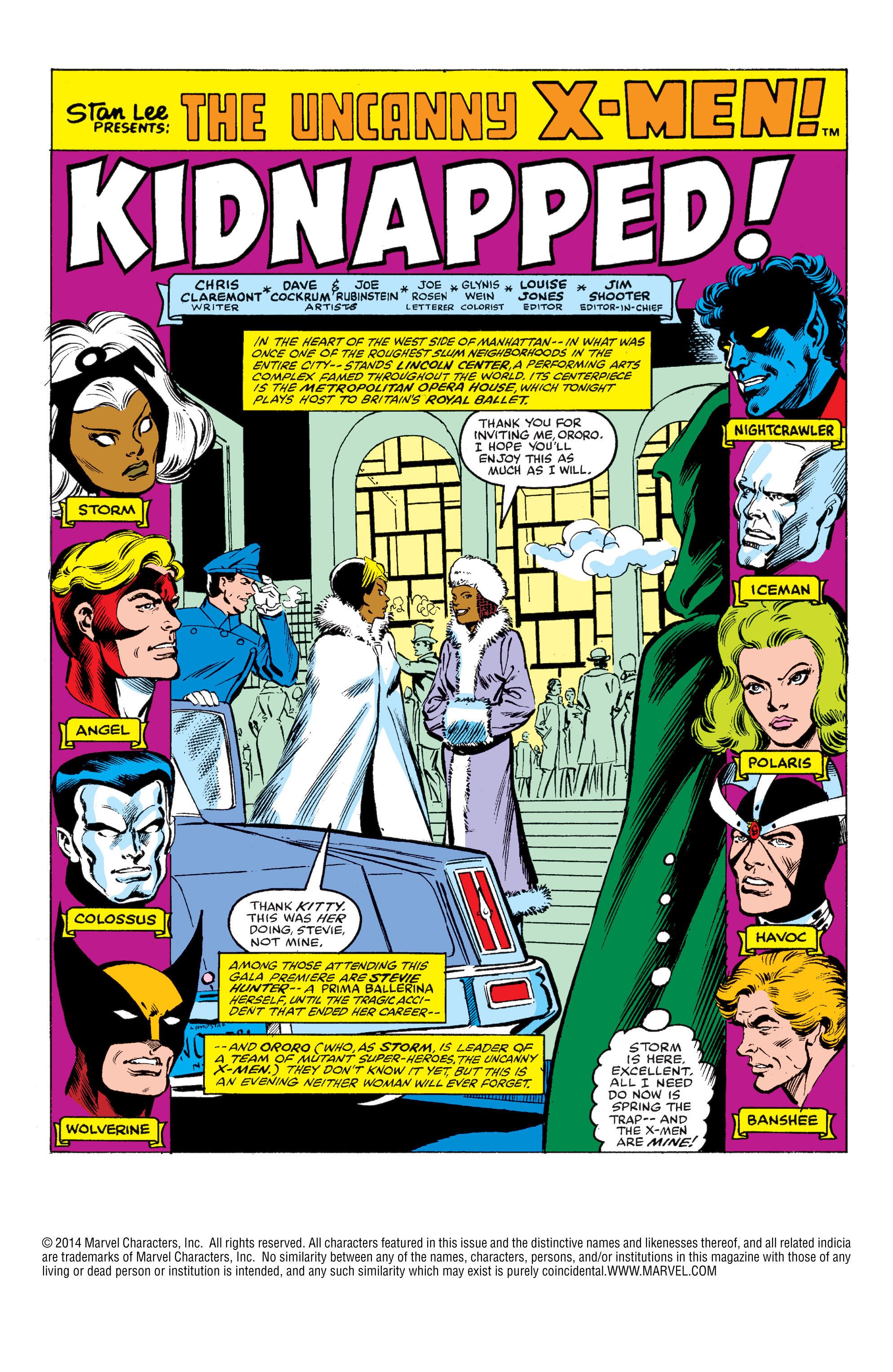 Read online Uncanny X-Men (1963) comic -  Issue #145 - 2