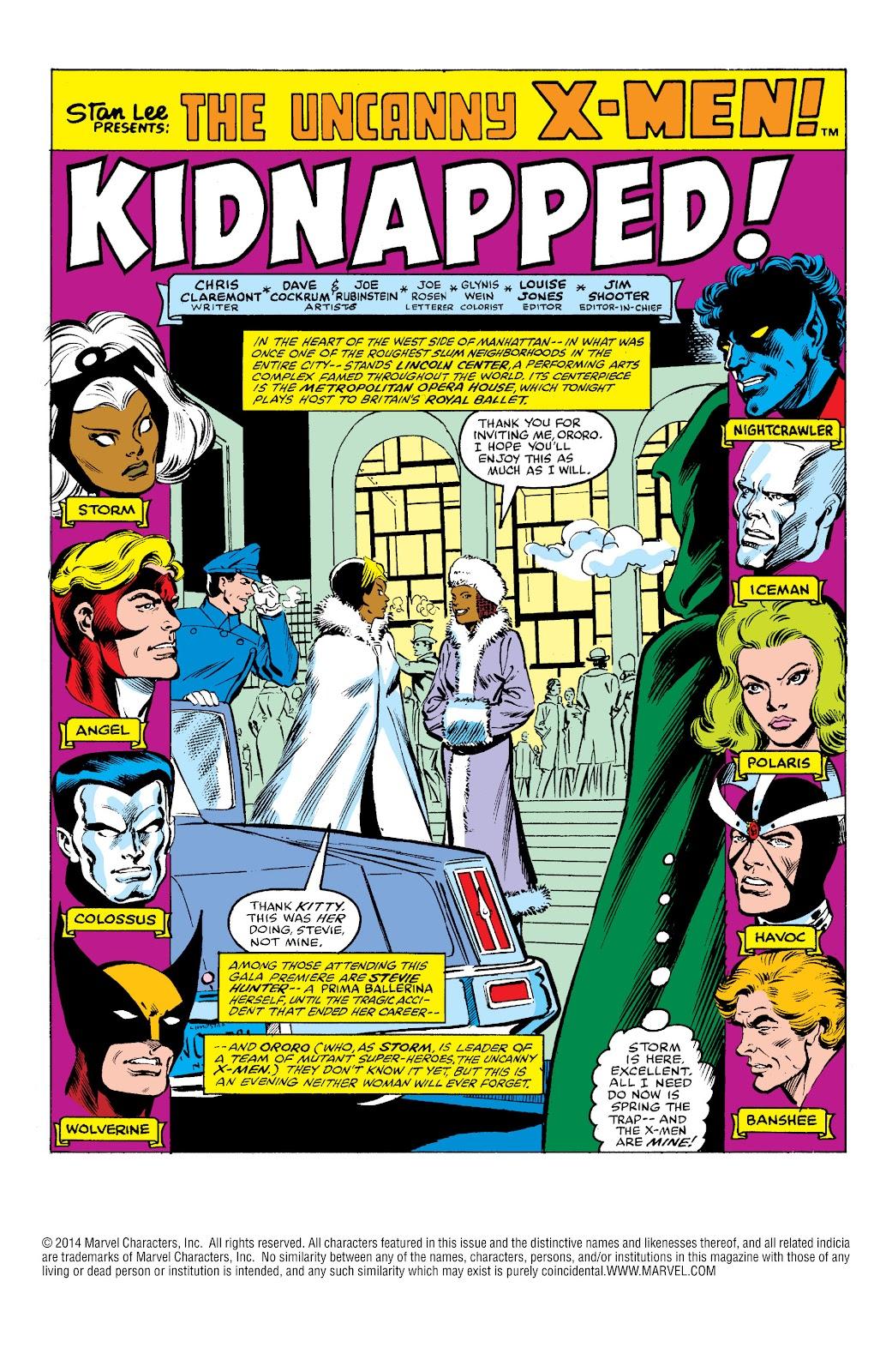 Uncanny X-Men (1963) issue 145 - Page 2