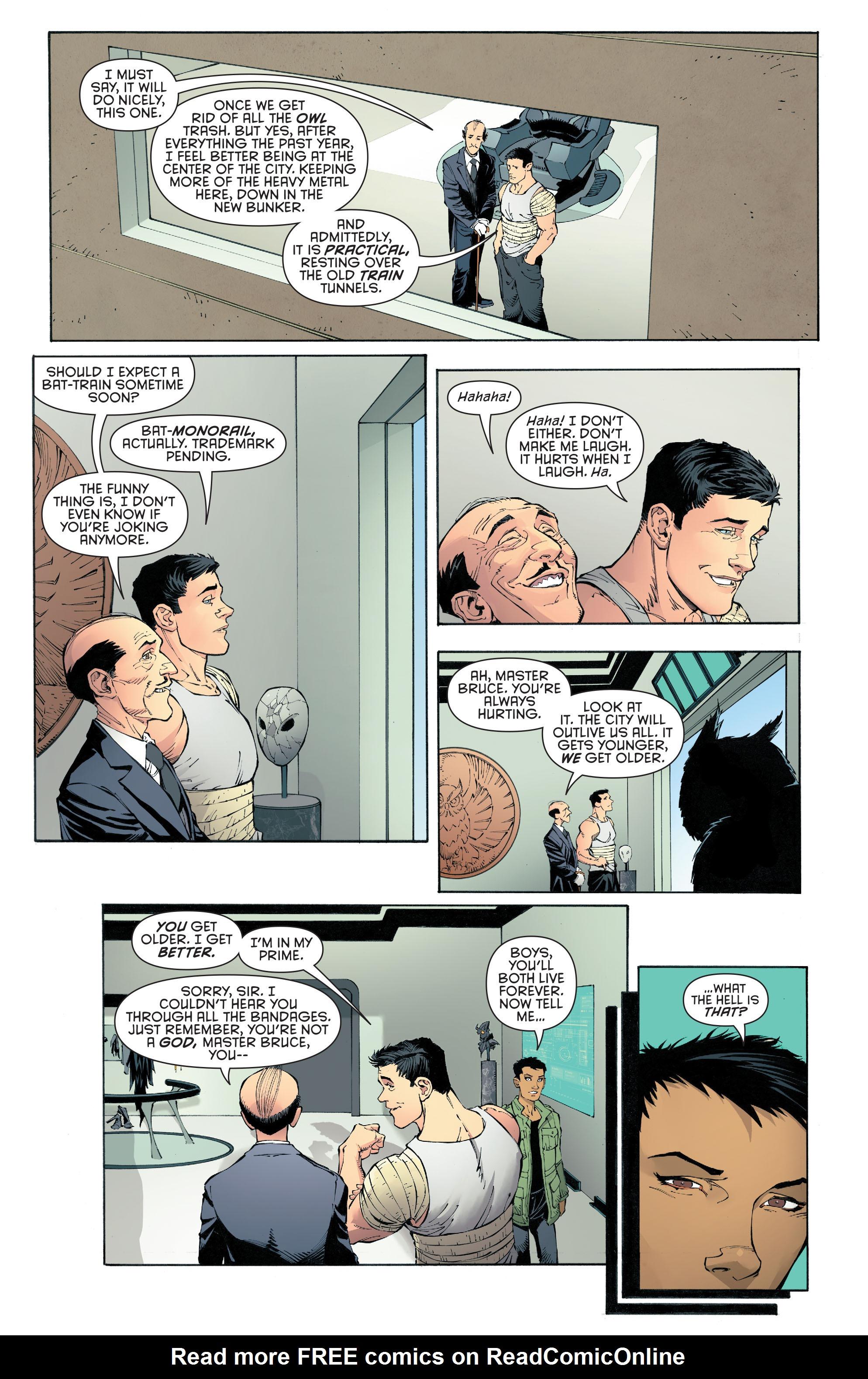 Read online Batman (2011) comic -  Issue # _TPB 7 - 13