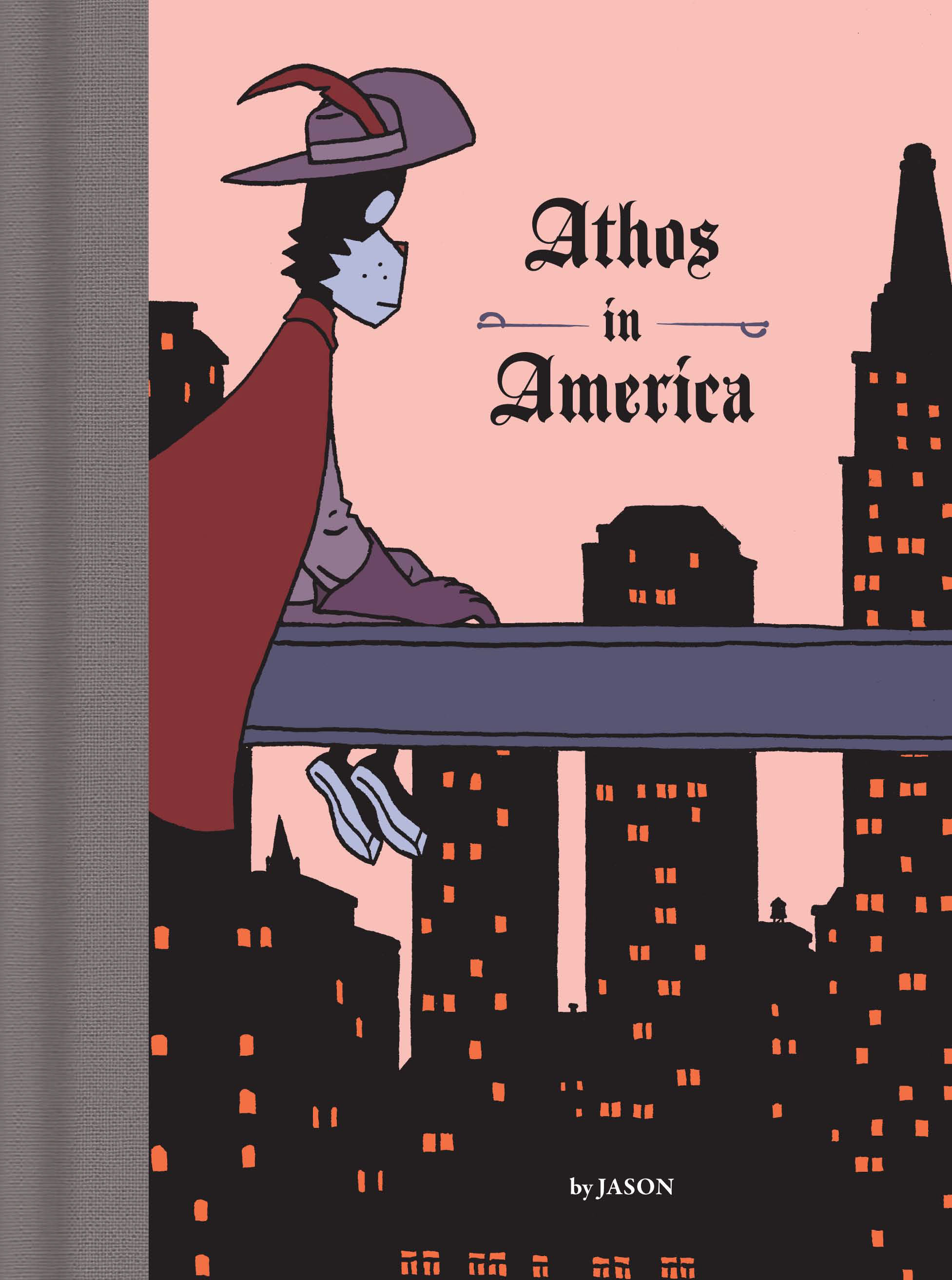 Read online Athos in America comic -  Issue #Athos in America Full - 1